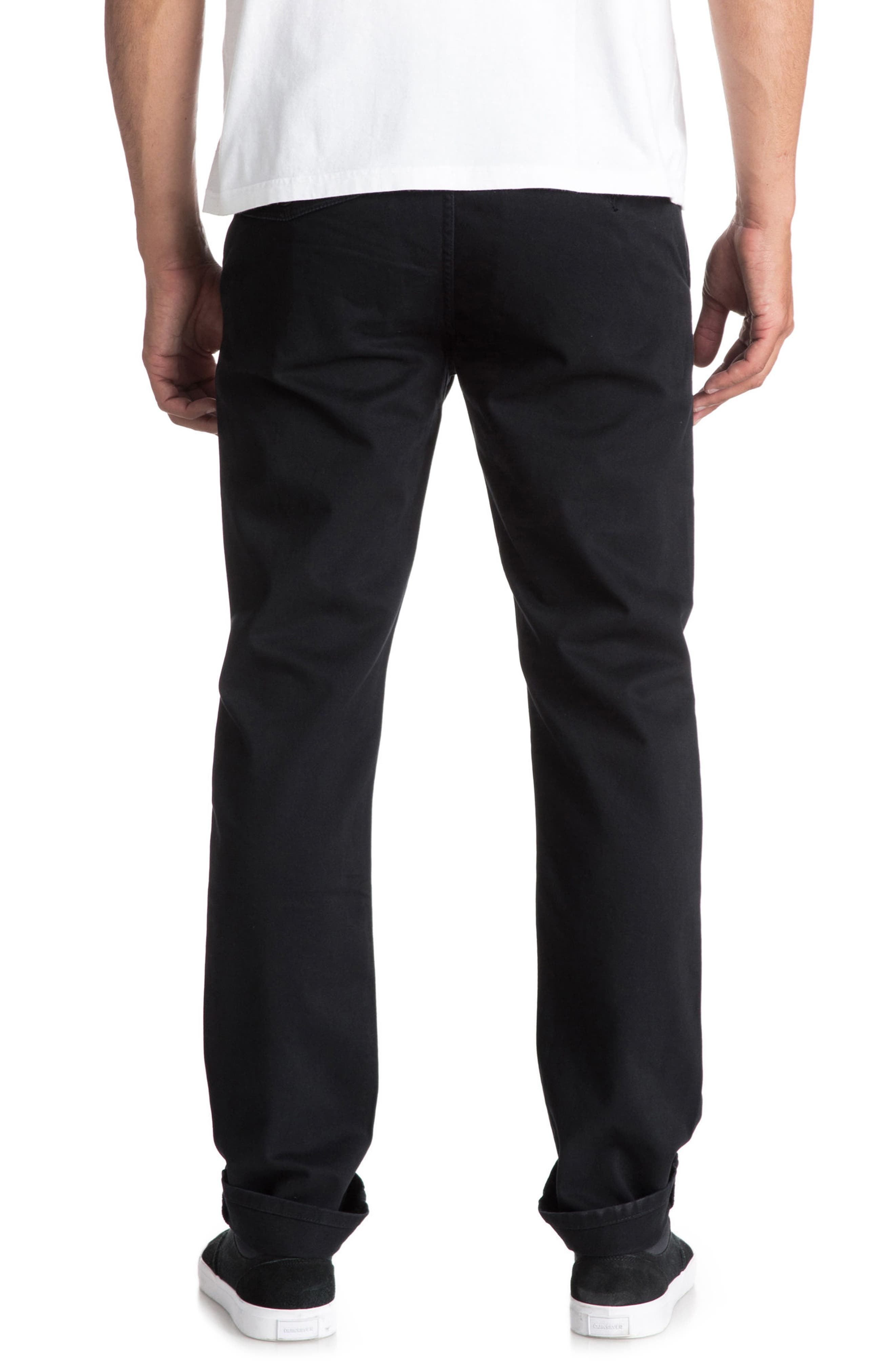 Everyday Chinos,                             Alternate thumbnail 2, color,                             Black