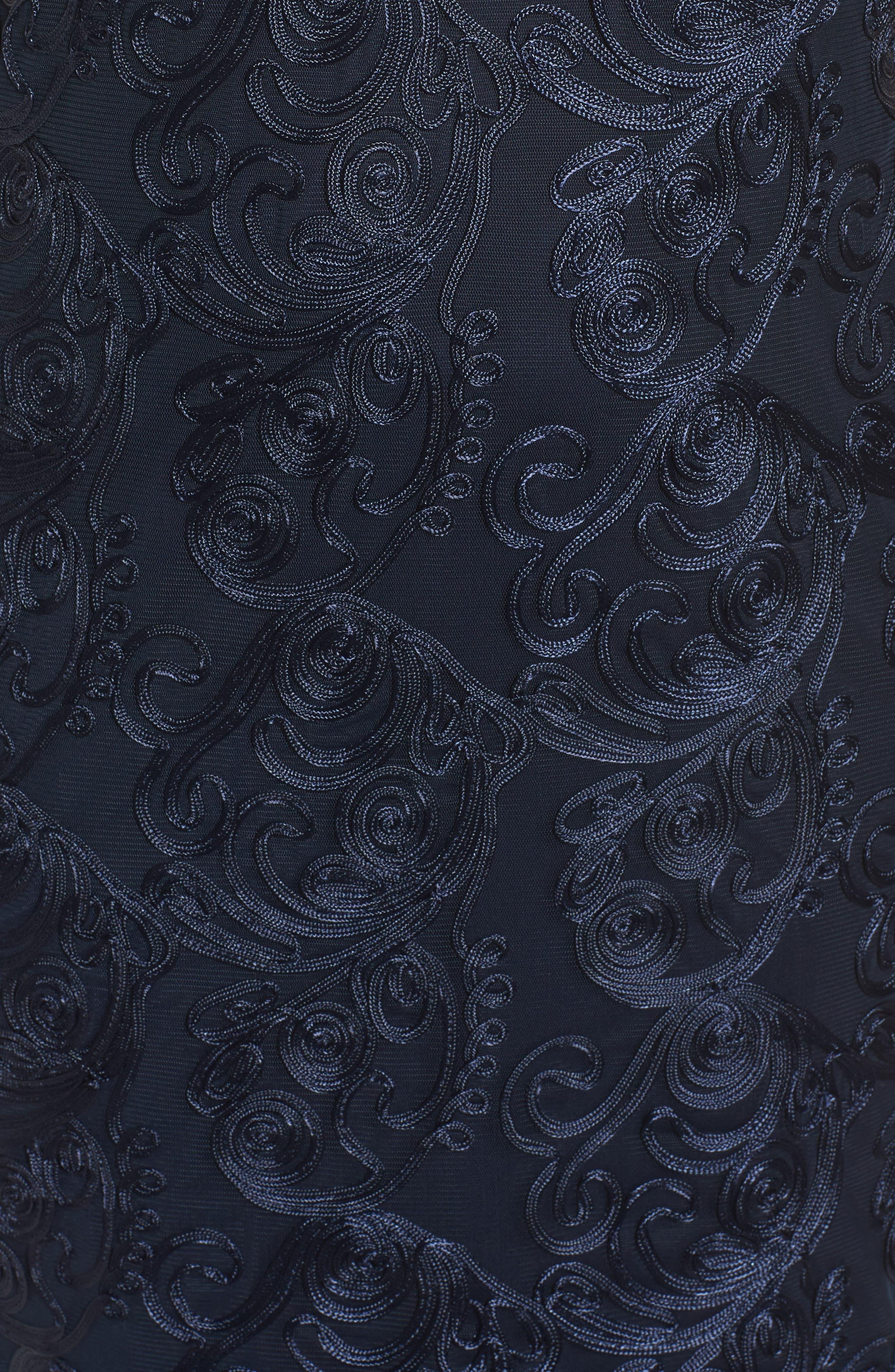 Alternate Image 5  - Marina Soutache Sheath Dress (Plus Size)