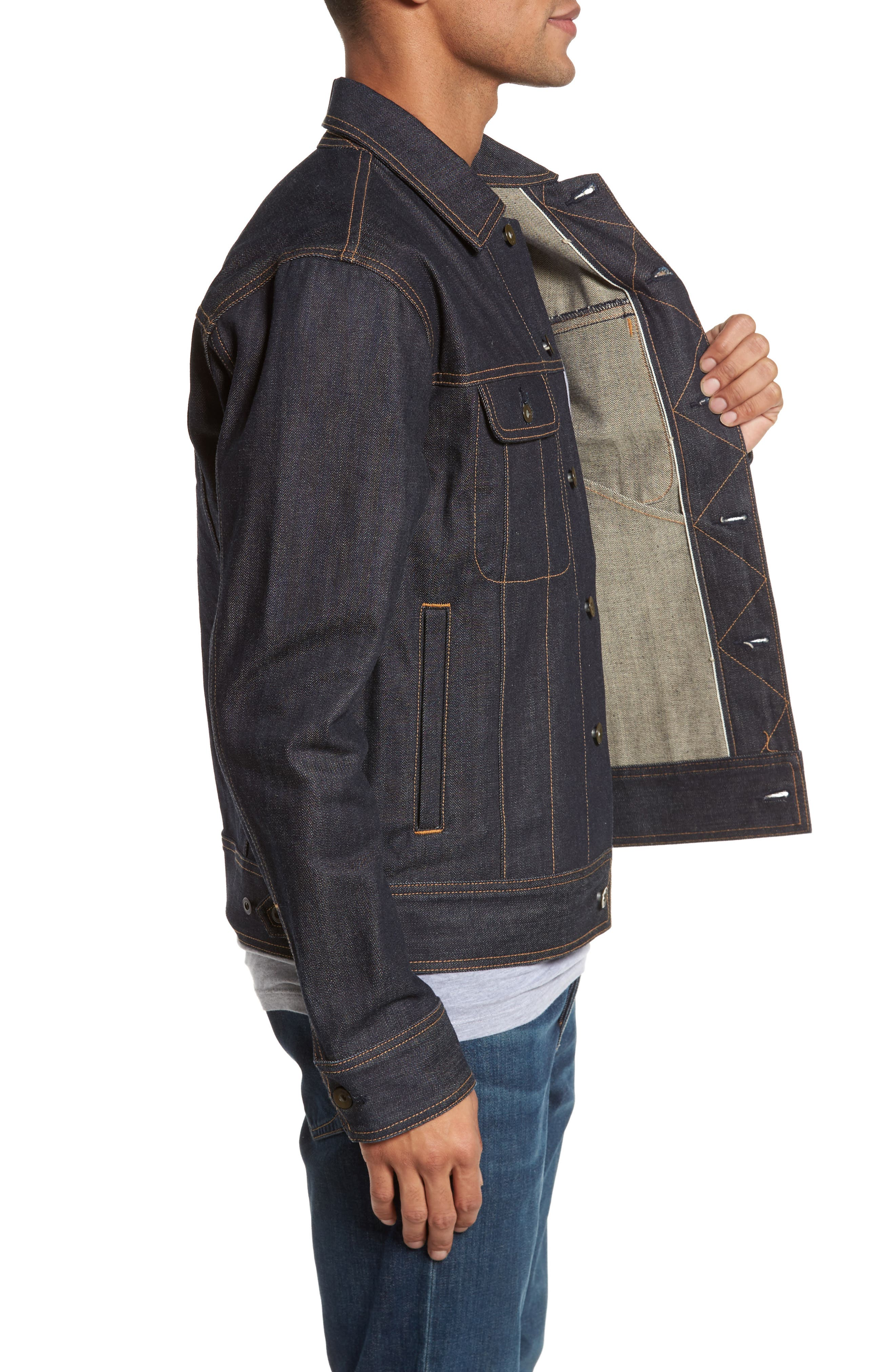 Alternate Image 3  - rag & bone Jean Jacket