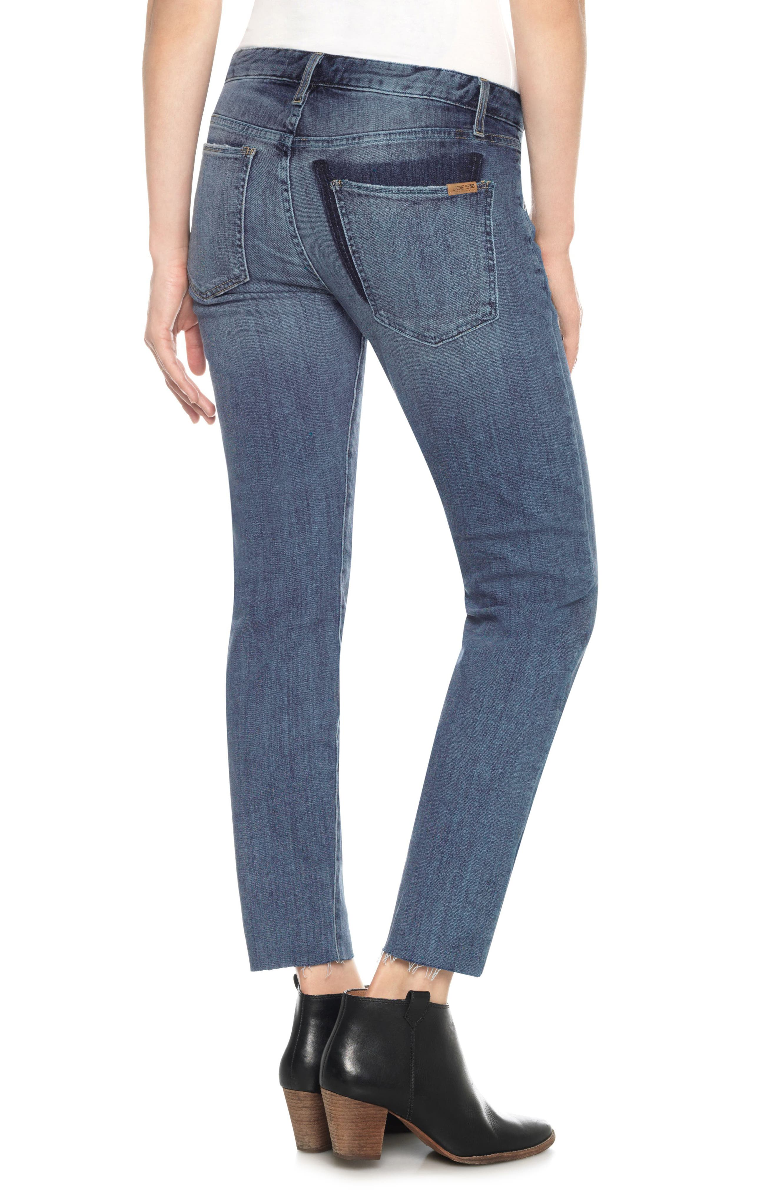 The Smith Stay Gold Ankle Jeans,                             Alternate thumbnail 2, color,                             Clenna