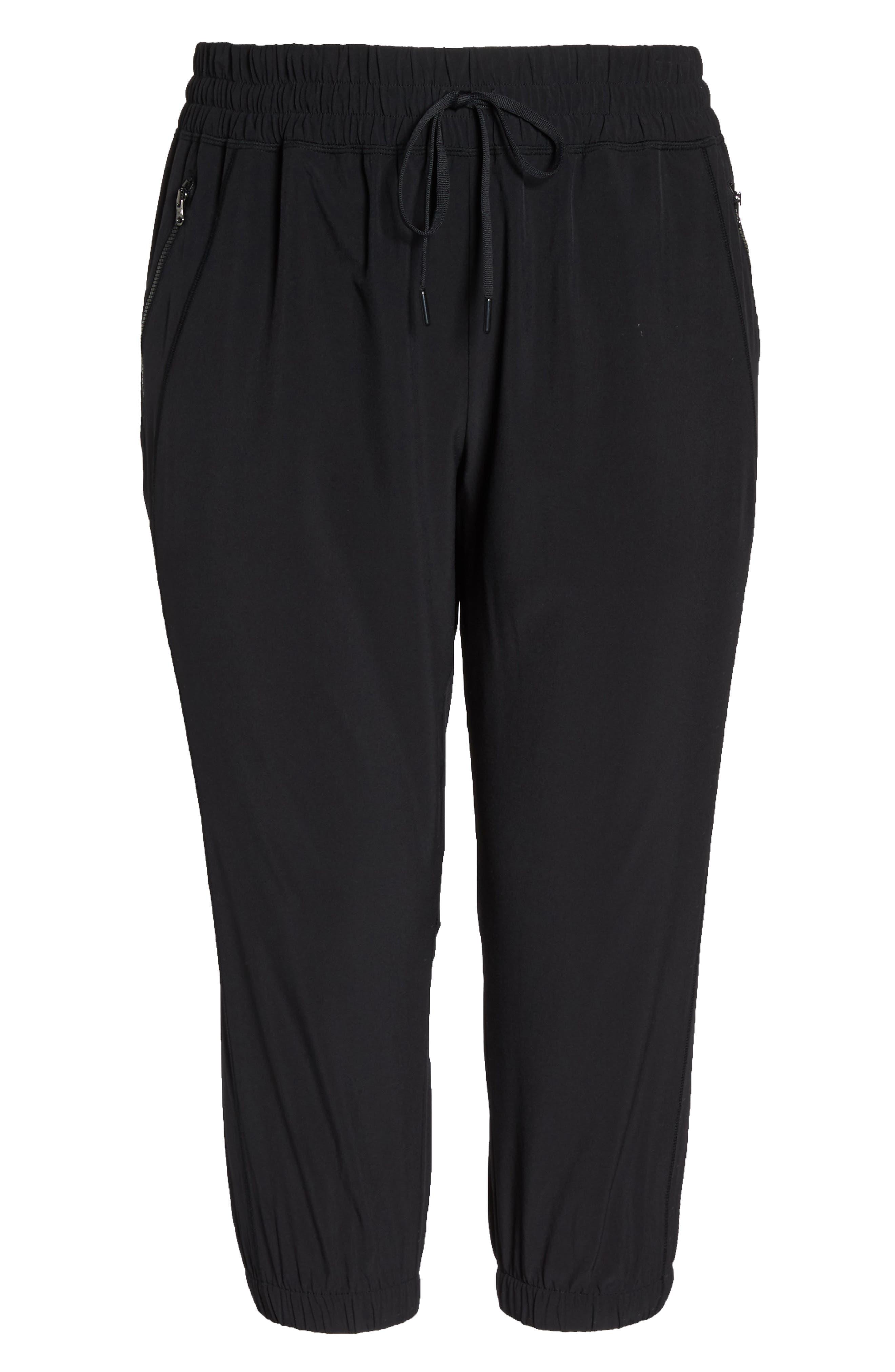 Out & About 2 Crop Pants,                             Alternate thumbnail 6, color,                             Black