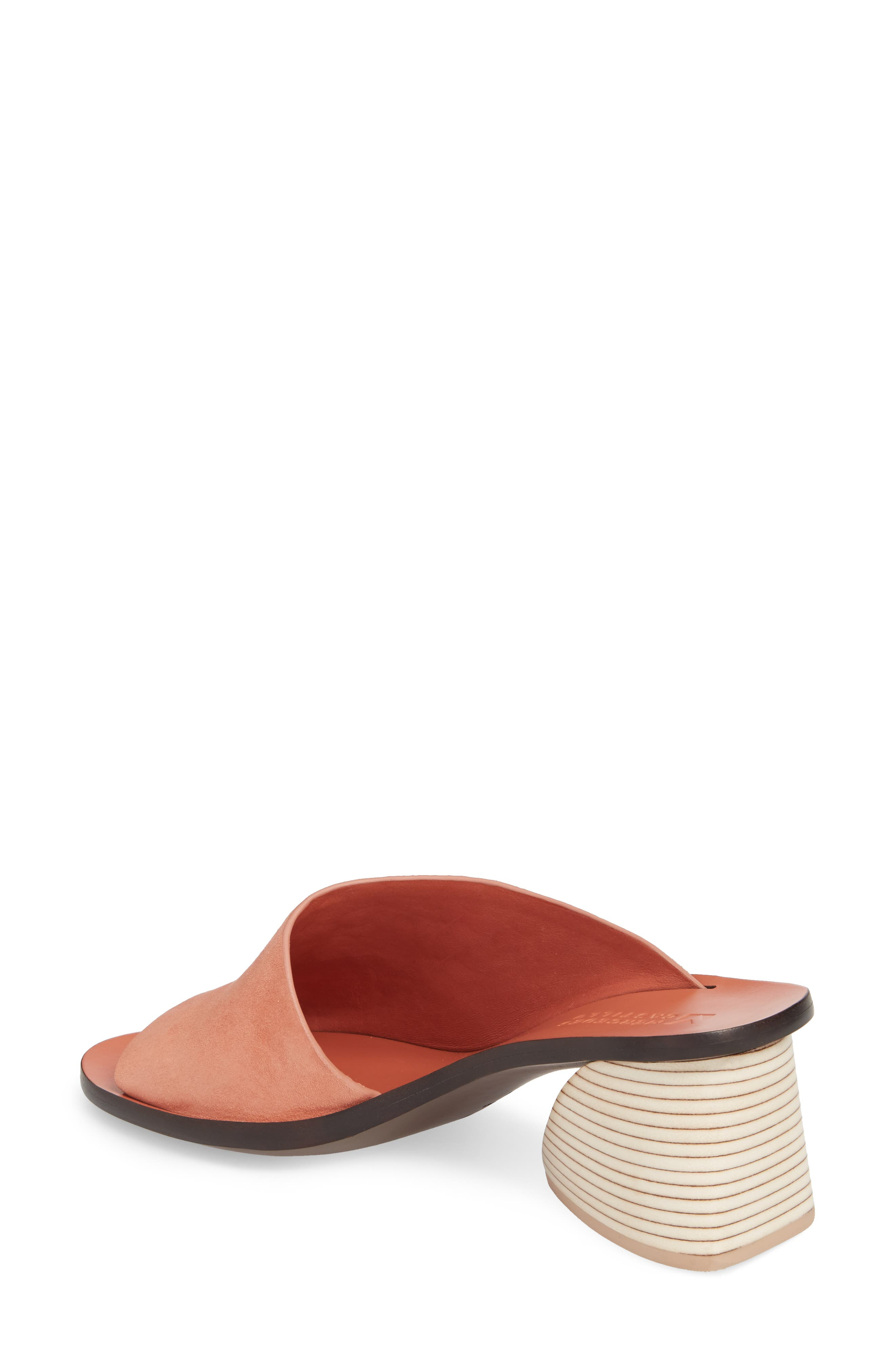 Izar Slide Sandal,                             Alternate thumbnail 2, color,                             Rose Suede