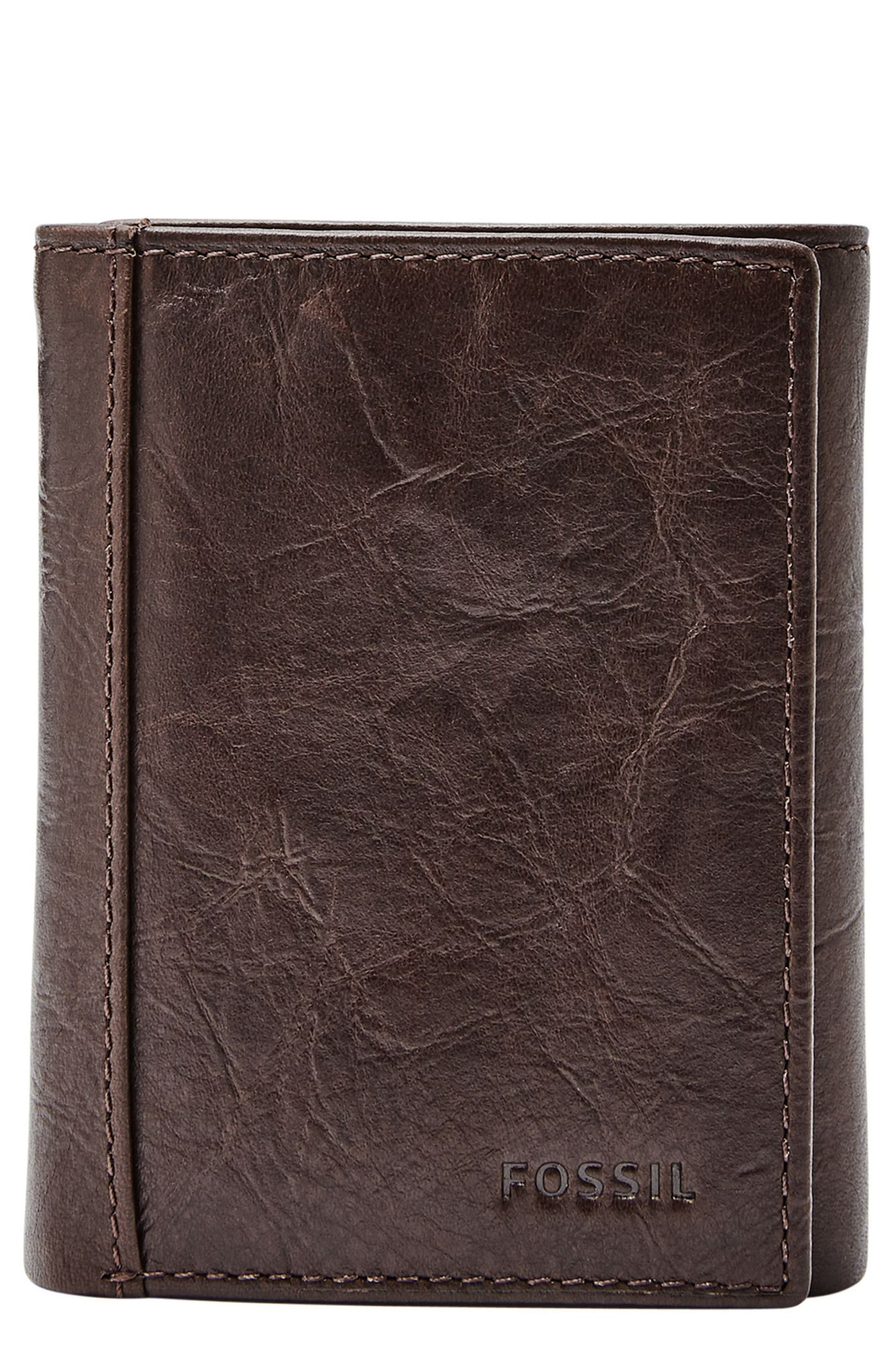 Alternate Image 1 Selected - Fossil Neel Leather Wallet