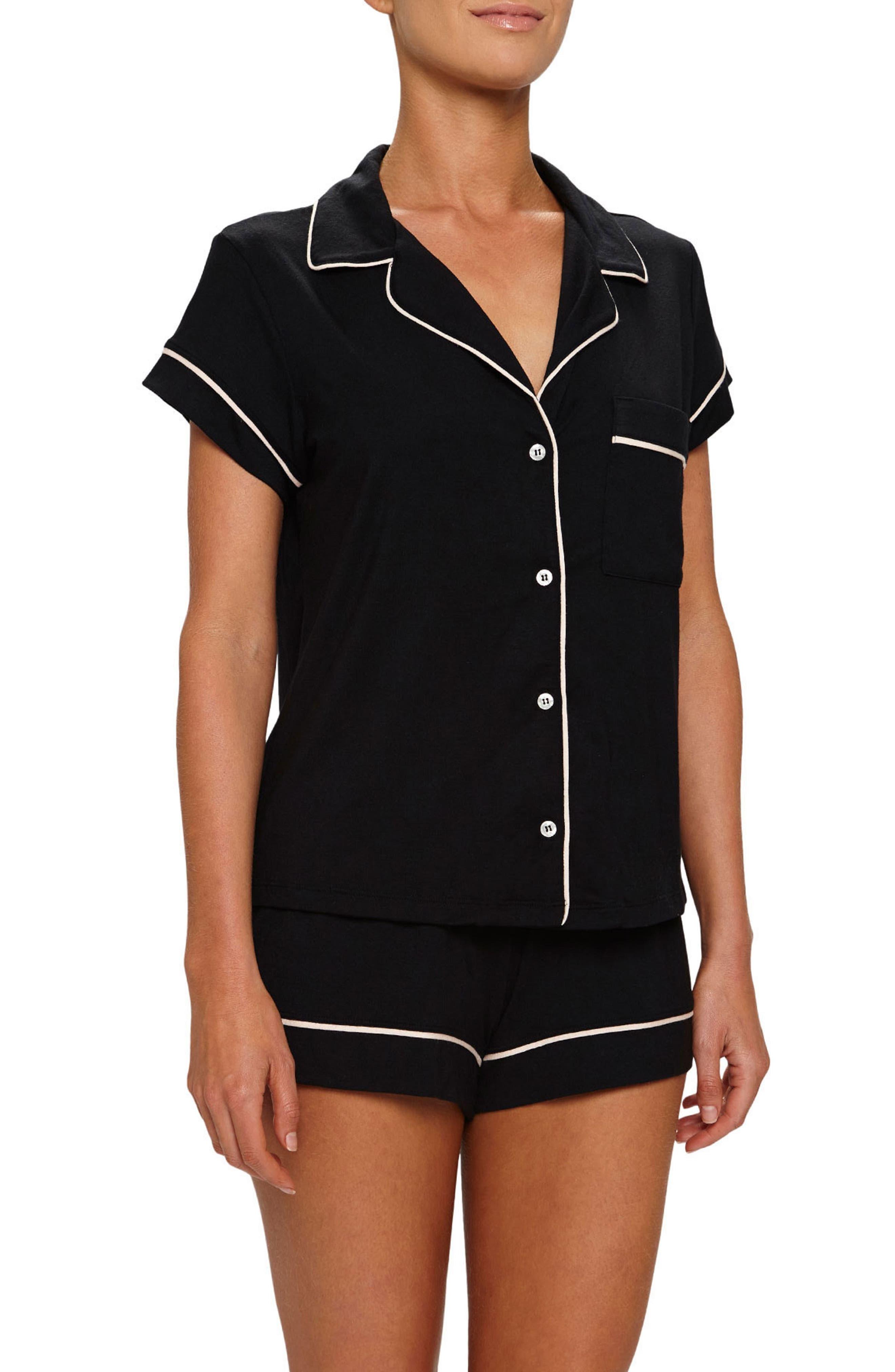 Alternate Image 1 Selected - Eberjey 'Gisele' Shorty Pajamas