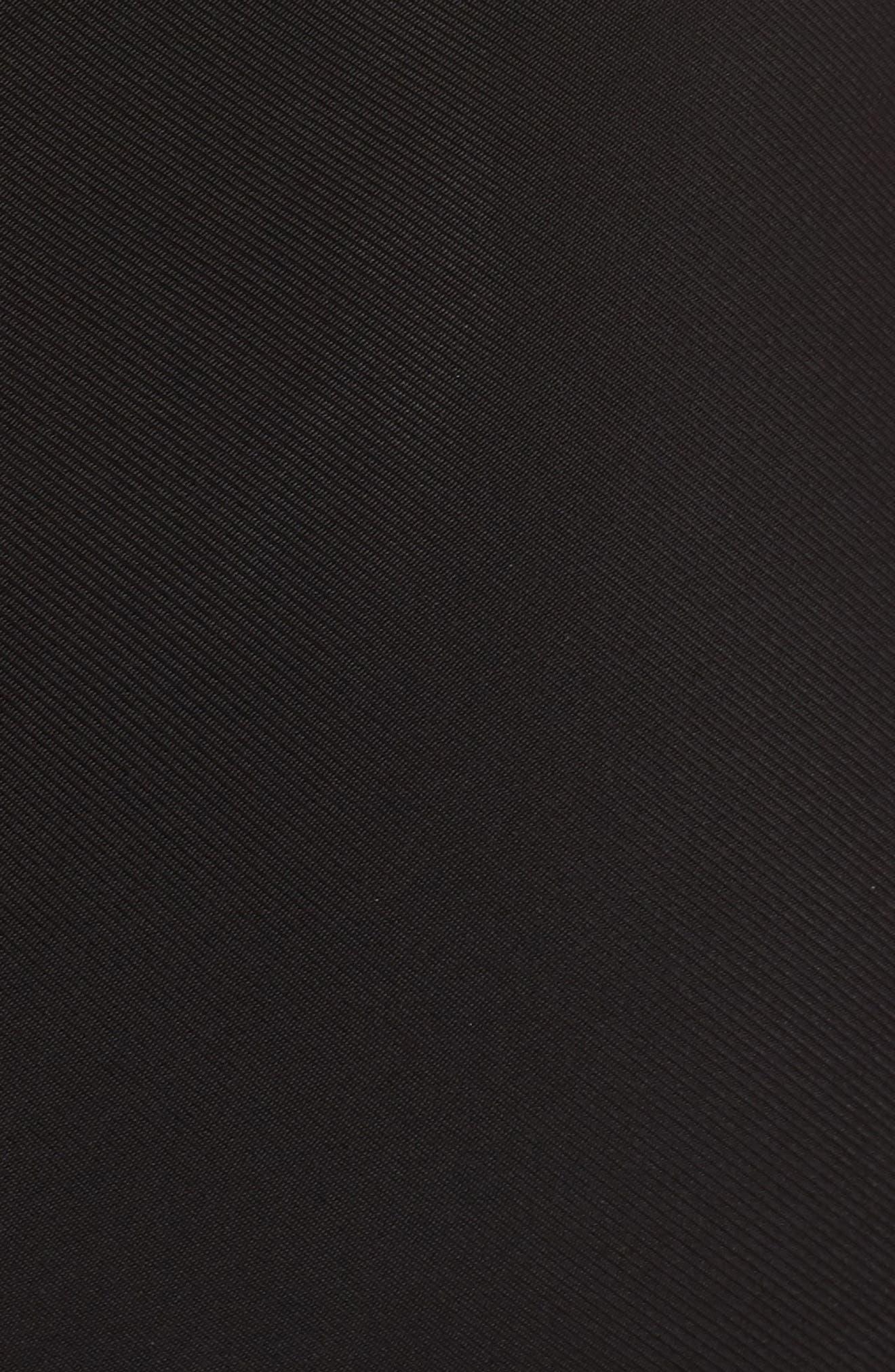 Tara High/Low Knit Dress,                             Alternate thumbnail 5, color,                             Black