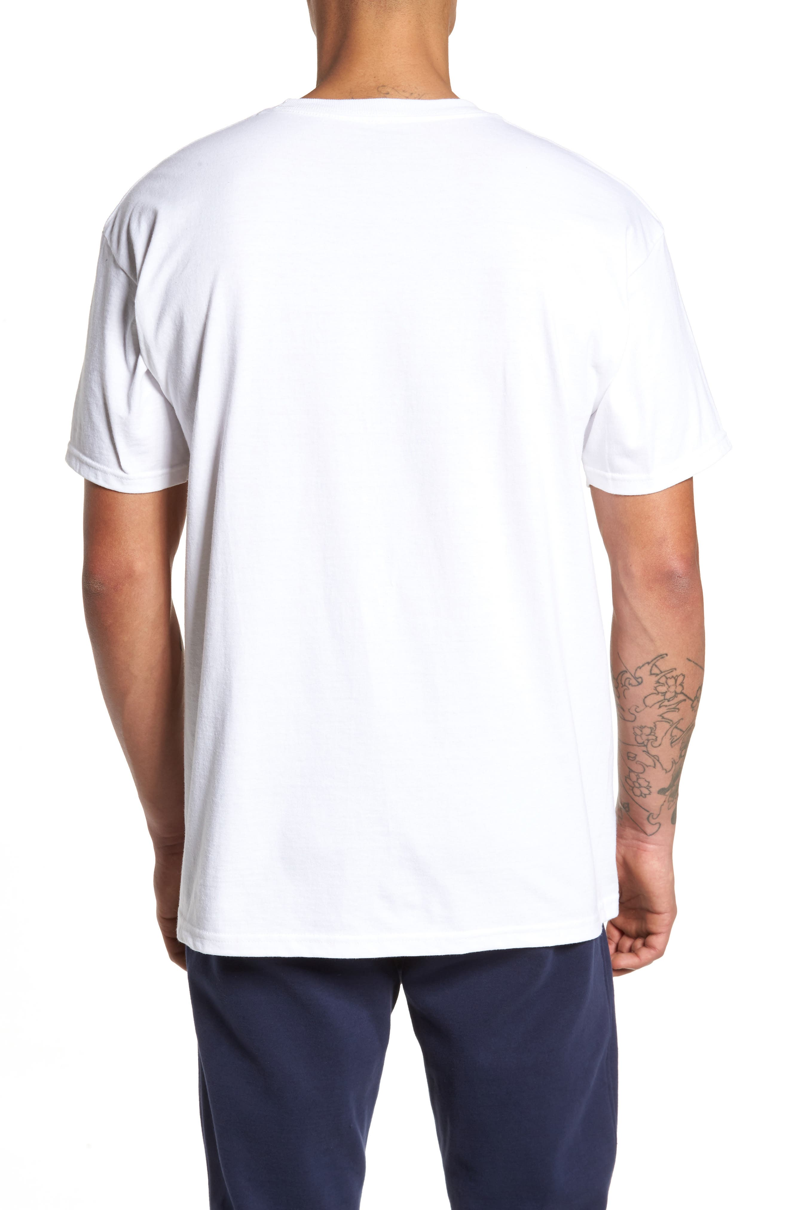 Alternate Image 2  - FILA Stacked Logo T-Shirt