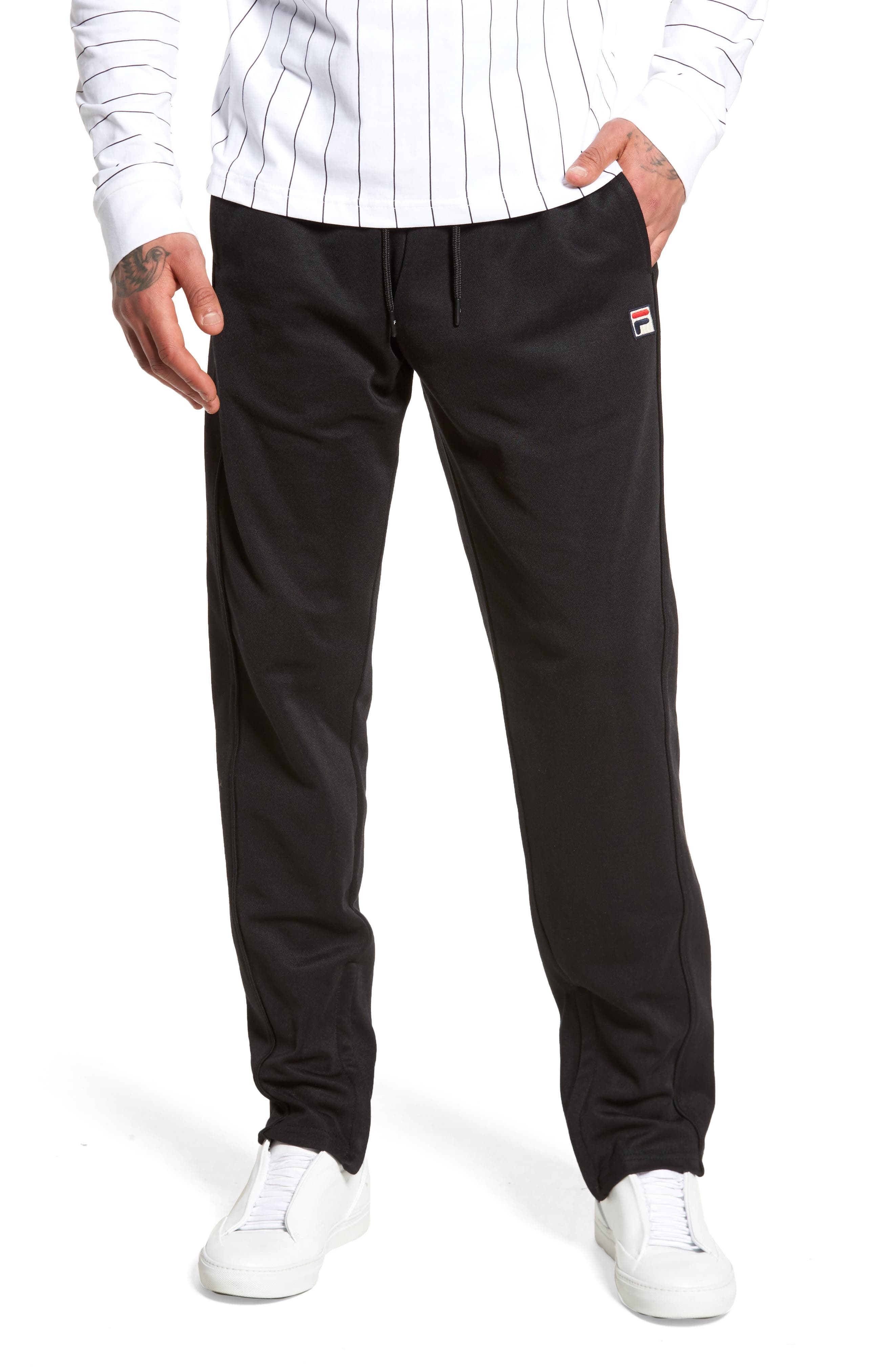 Bianchi Pants,                             Main thumbnail 1, color,                             Black