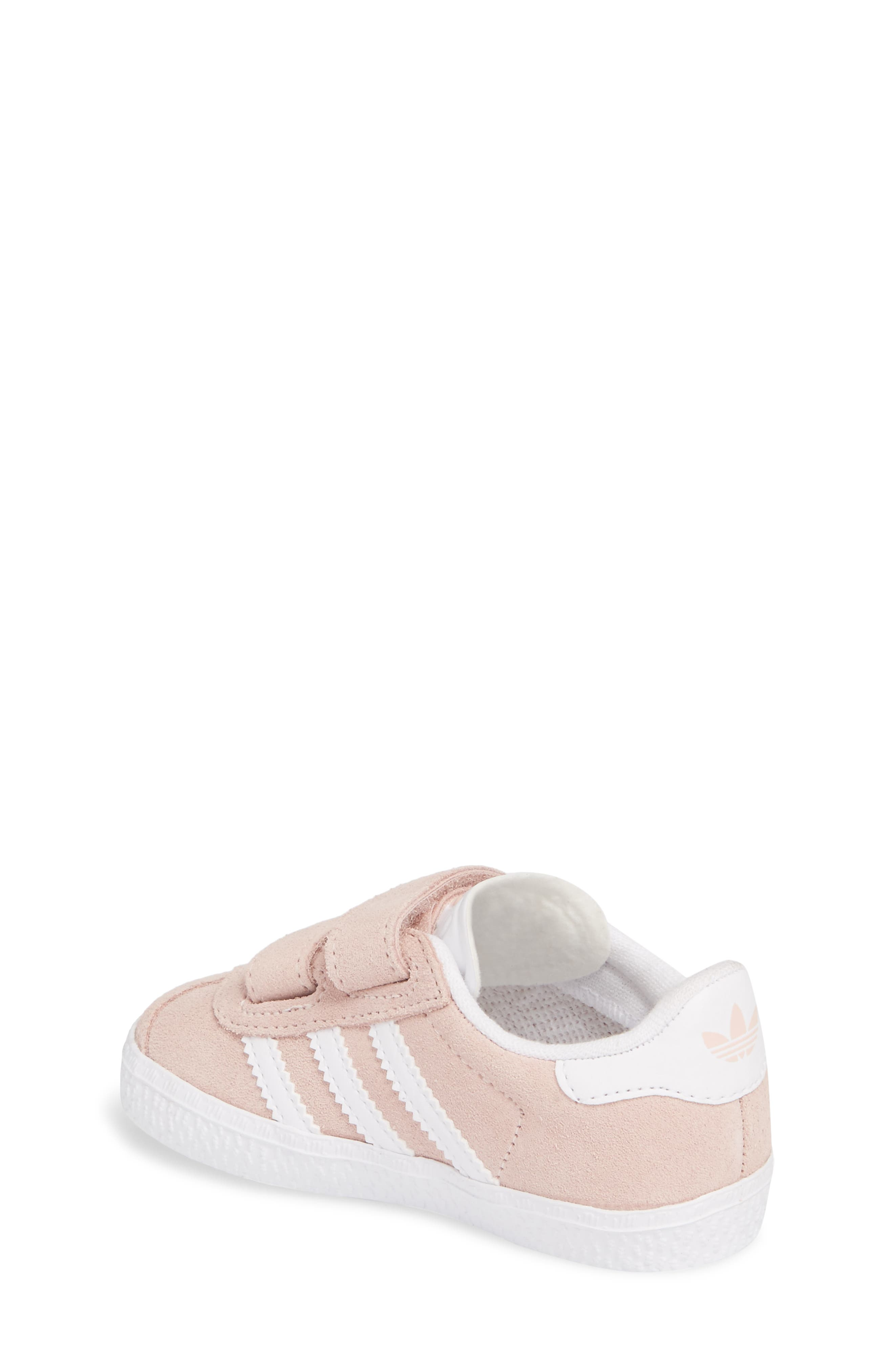 Gazelle Sneaker,                             Alternate thumbnail 2, color,                             Icey Pink / White / White