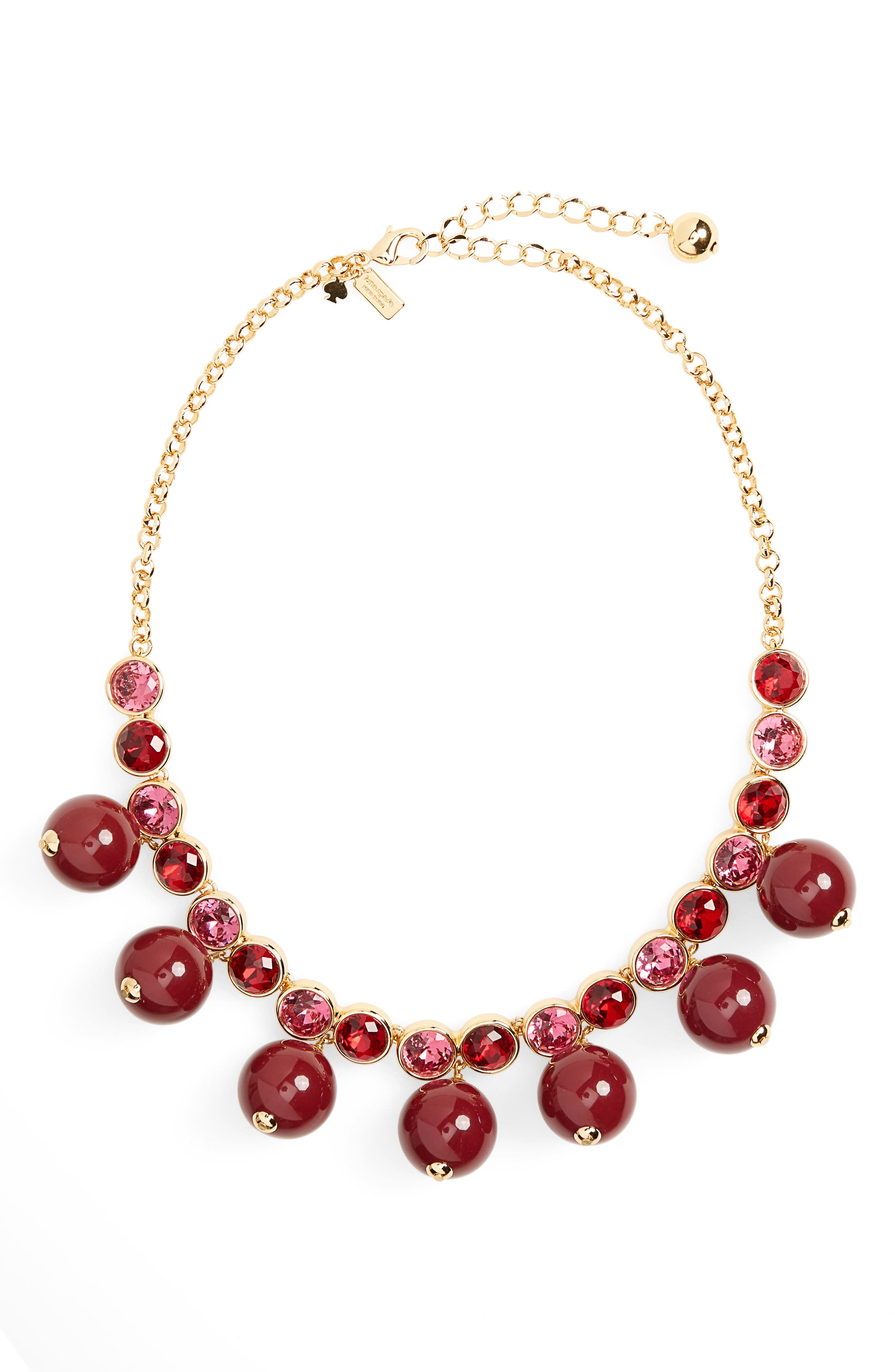 Alternate Image 1 Selected - kate spade new york true colors bauble necklace