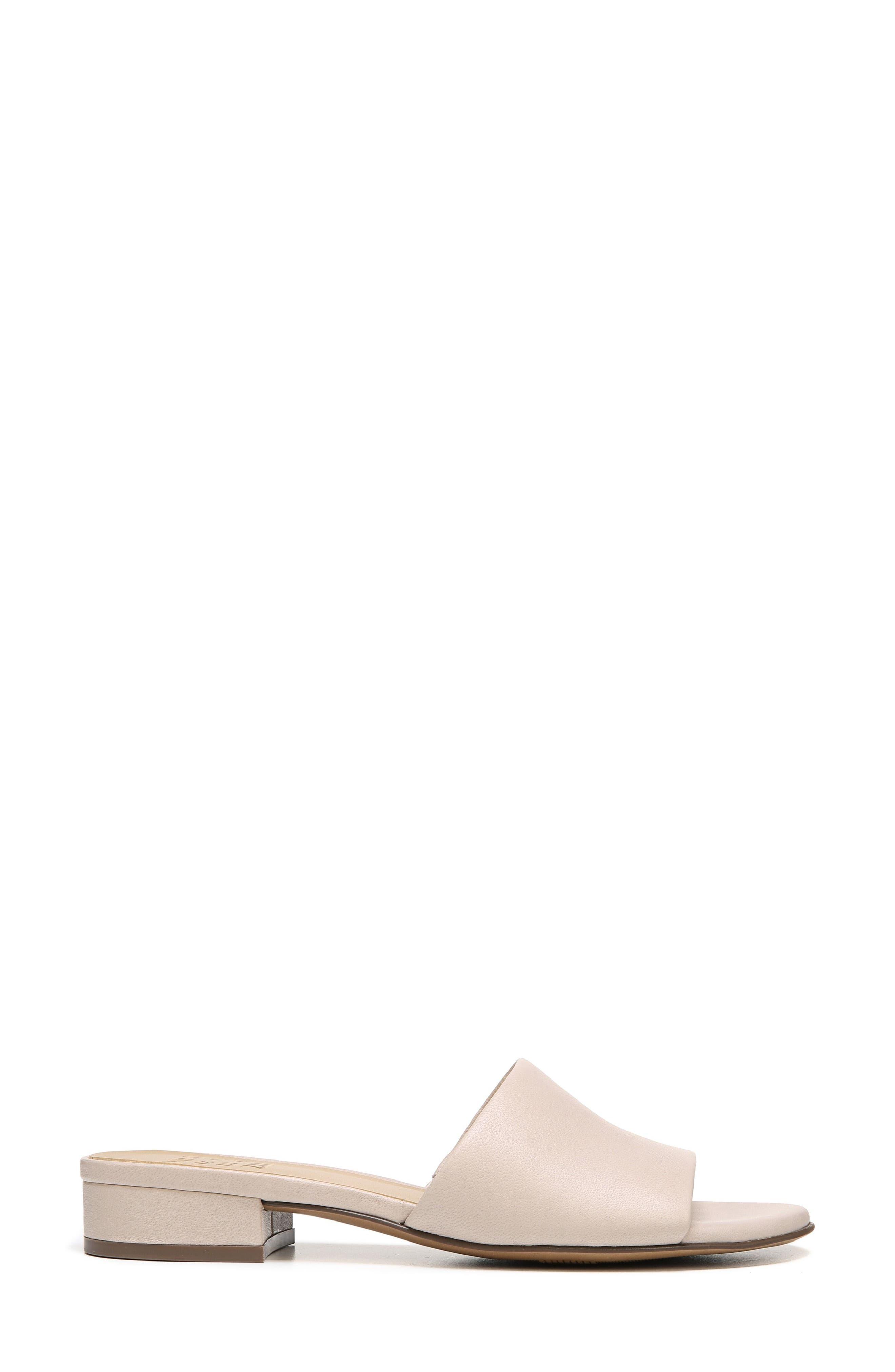 Mason Slide Sandal,                             Alternate thumbnail 3, color,                             Grey Leather