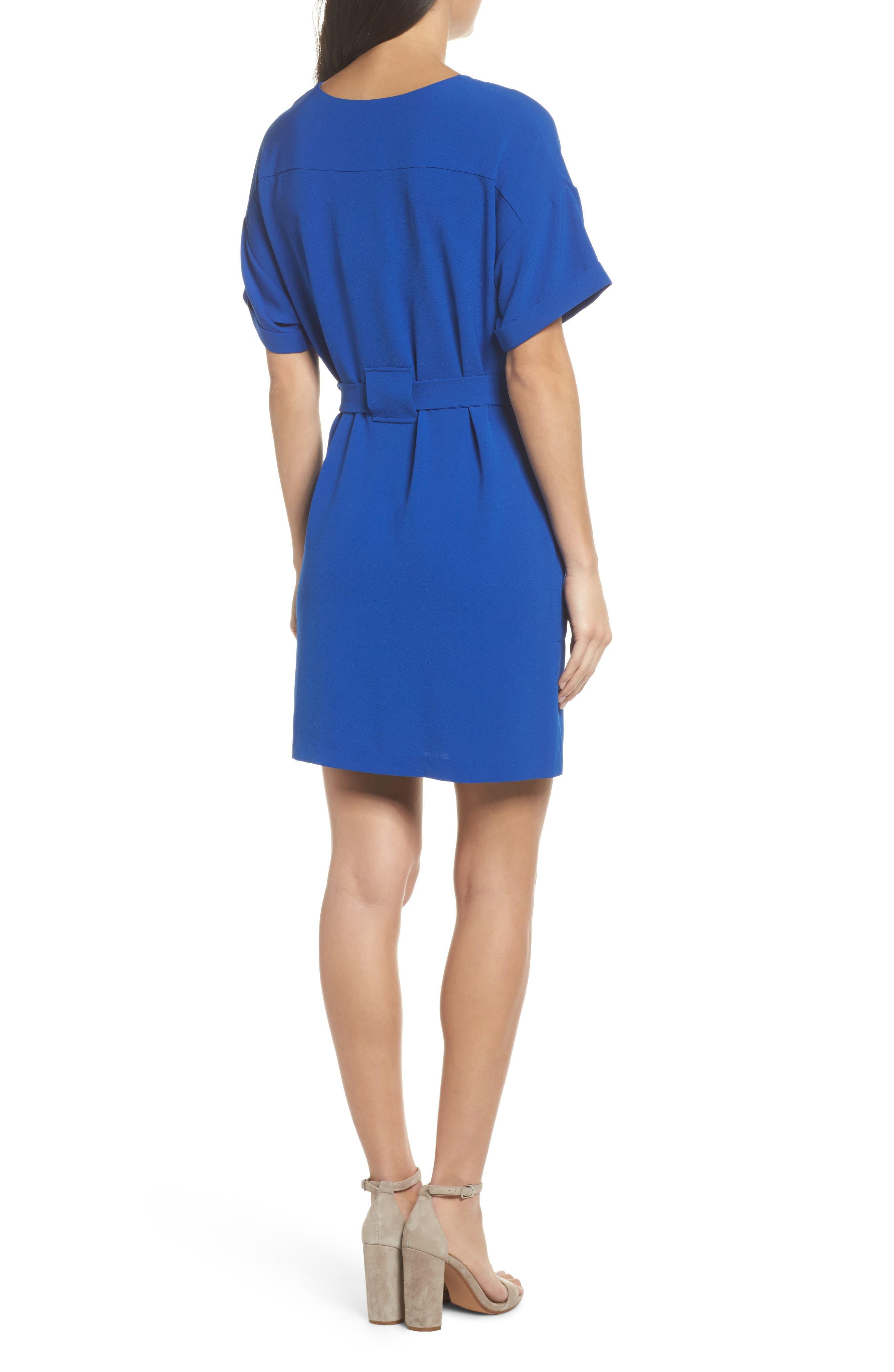 Alternate Image 2  - Felicity & Coco Halia Tie Waist Dress (Regular & Petite)