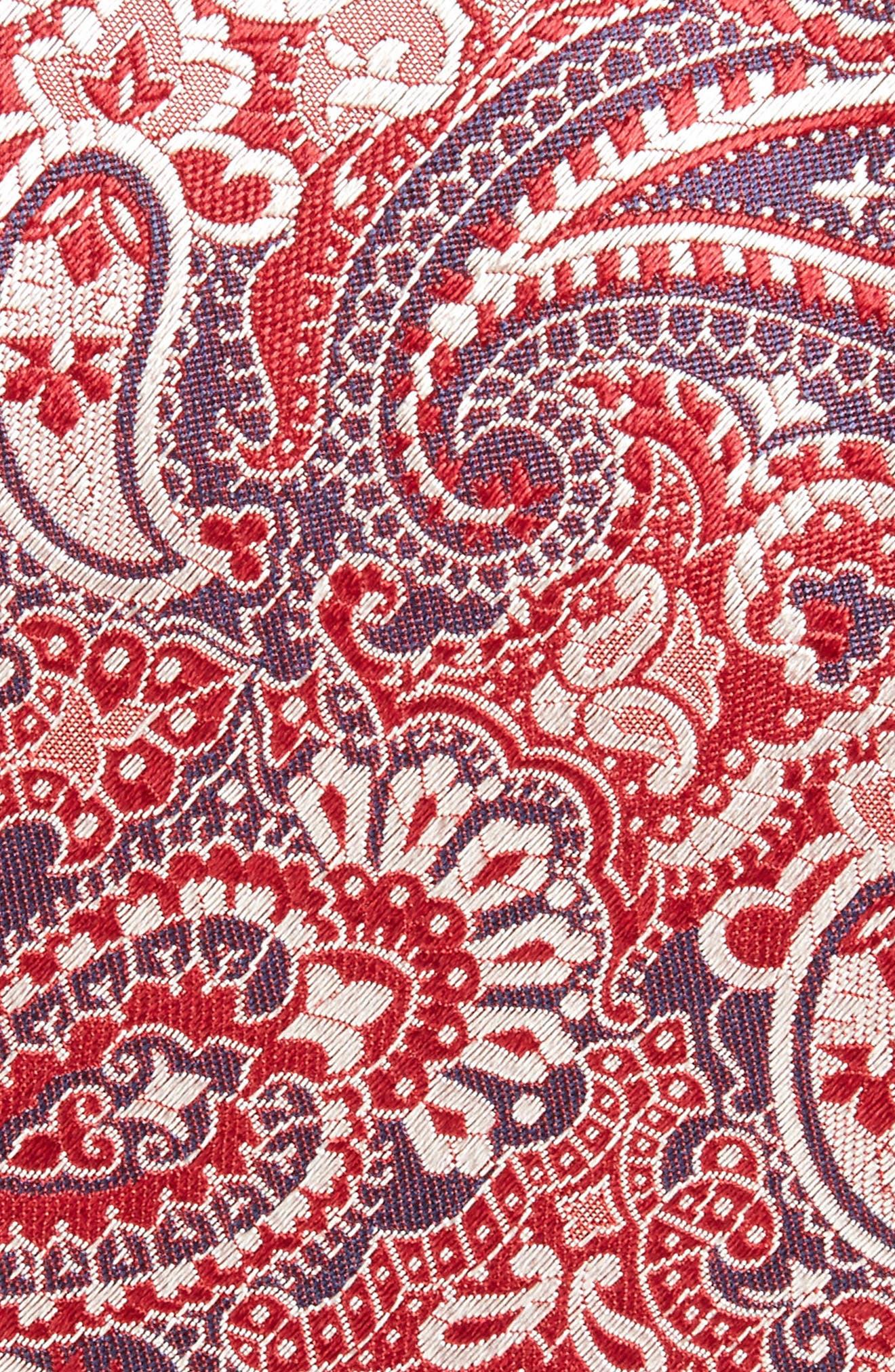 Alternate Image 2  - BOSS Paisley Silk Tie