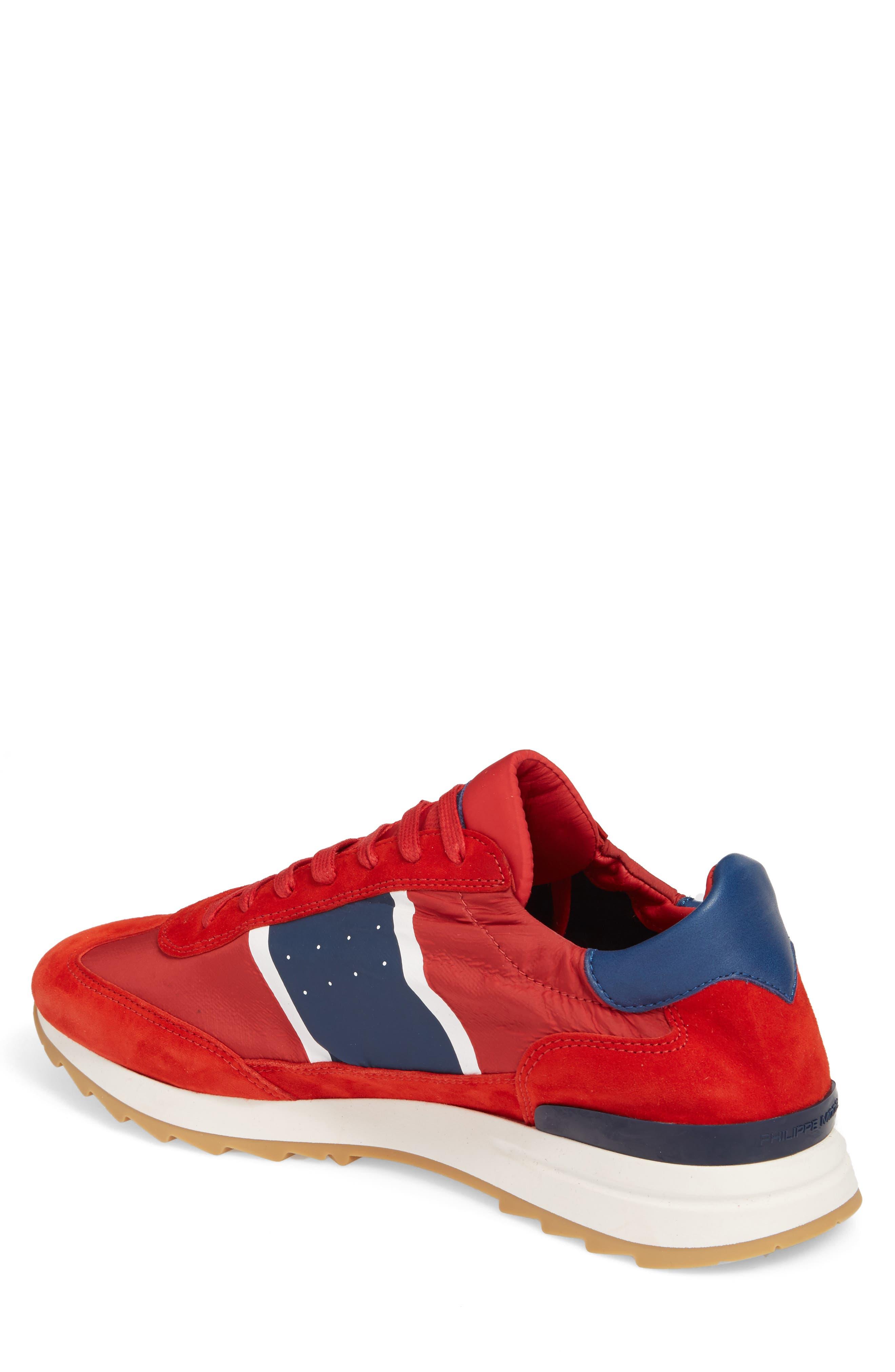 Toujours Sneaker,                             Alternate thumbnail 2, color,                             Red/ Blue