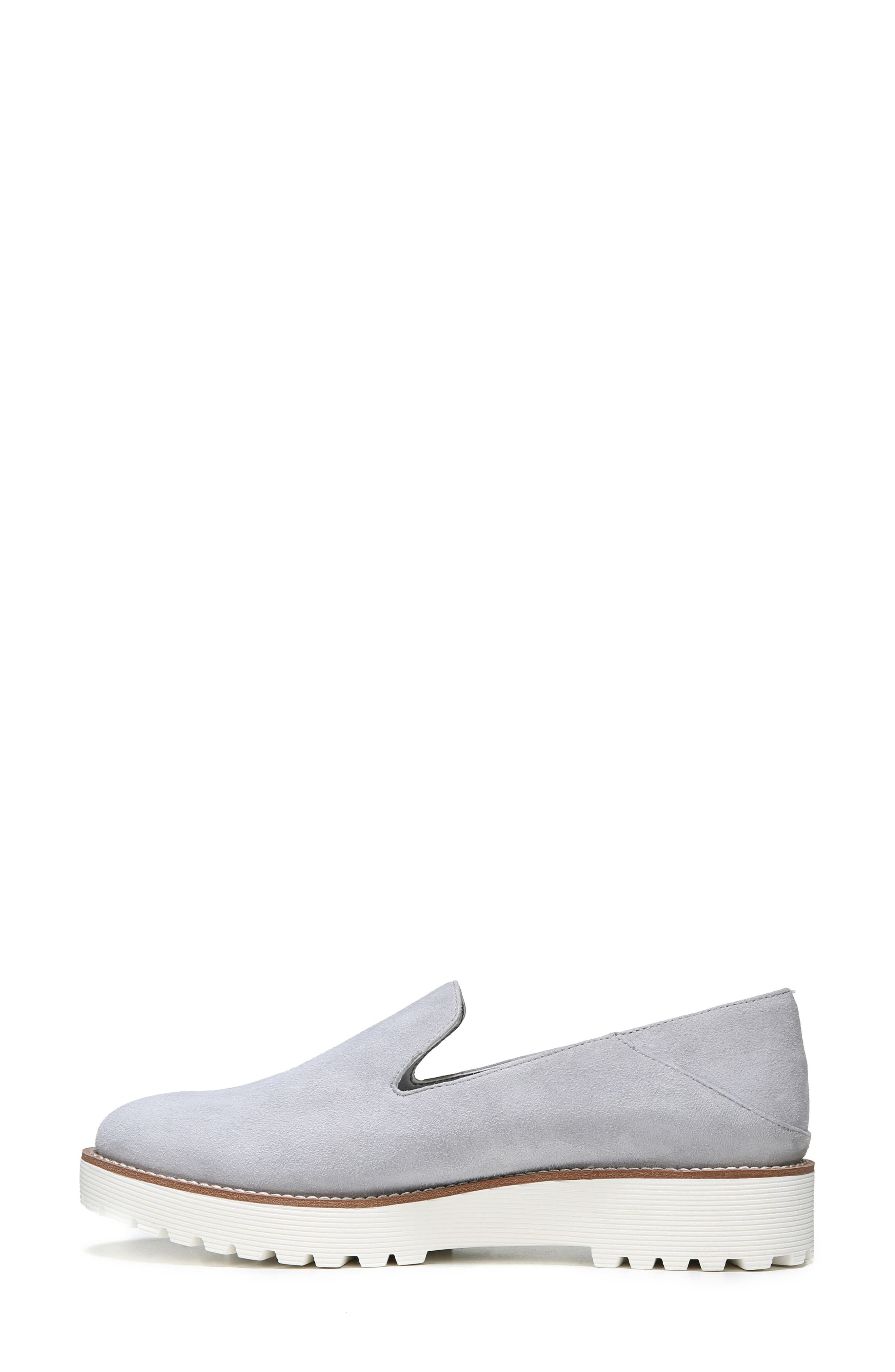 Jaxton Loafer,                             Alternate thumbnail 3, color,                             Artic Grey Suede