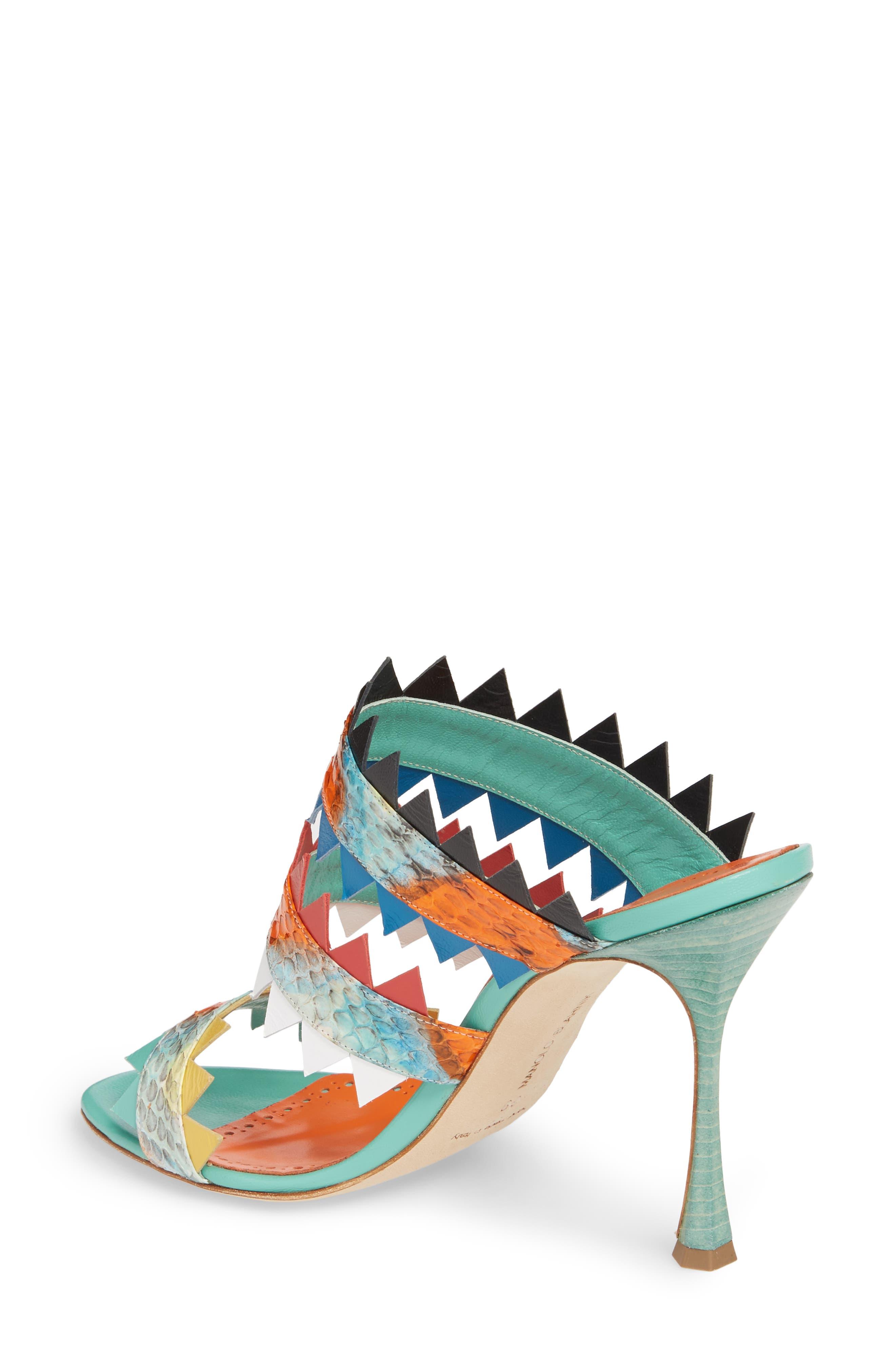 Arpege Mule Sandal,                             Alternate thumbnail 2, color,                             Watersnake Multi