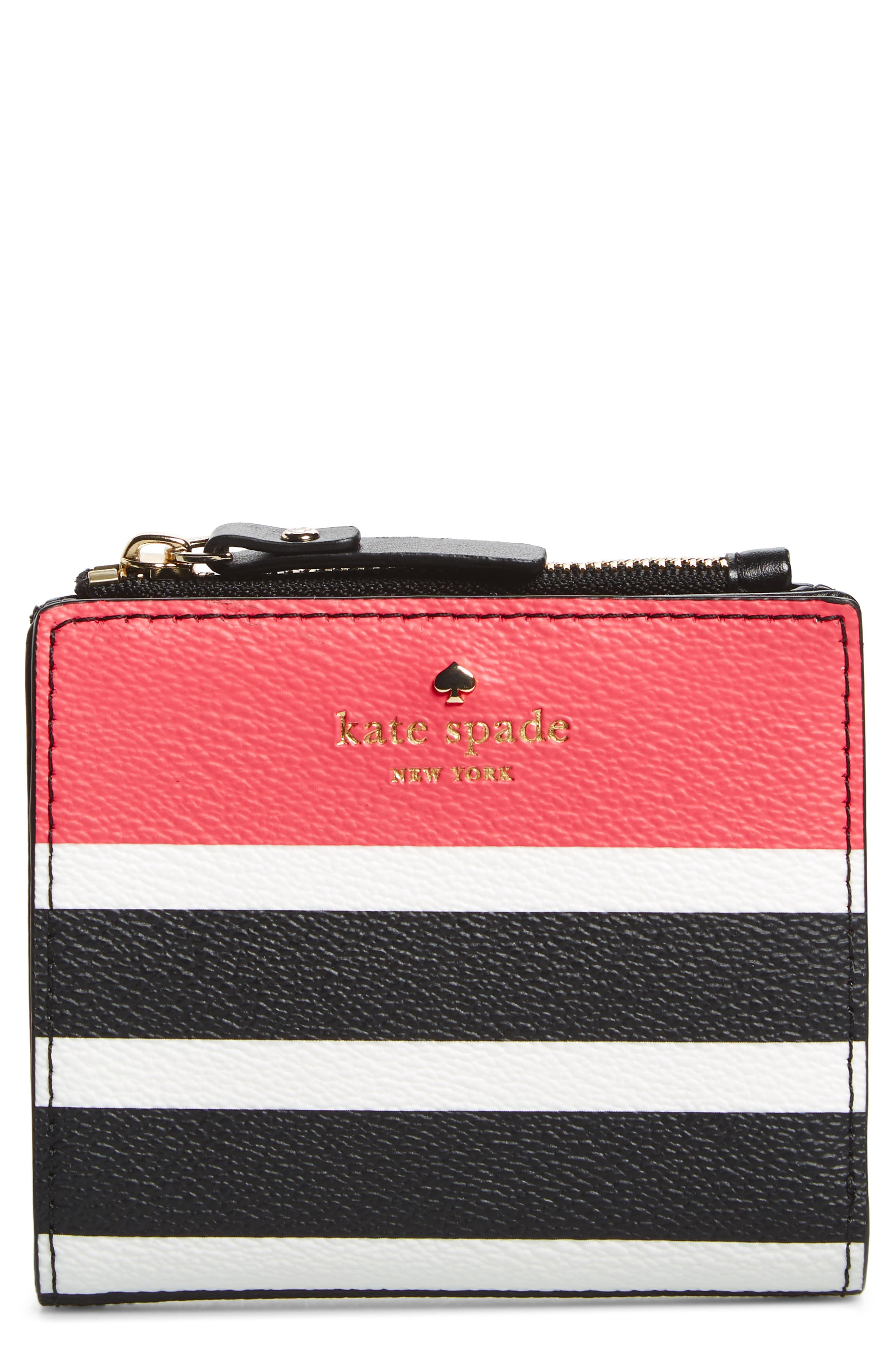 Main Image - kate spade new york hyde lane – stripe adyln wallet