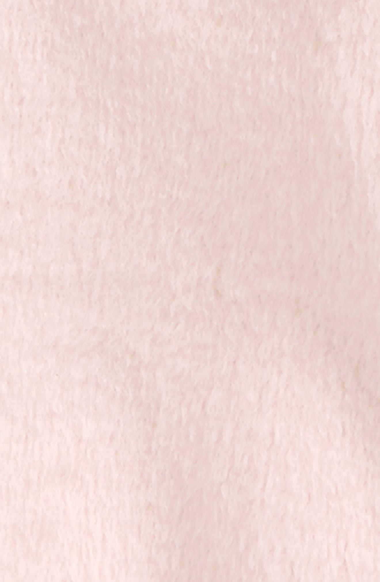 Cozy Zip-Up Hoodie,                             Alternate thumbnail 2, color,                             Pink Silver