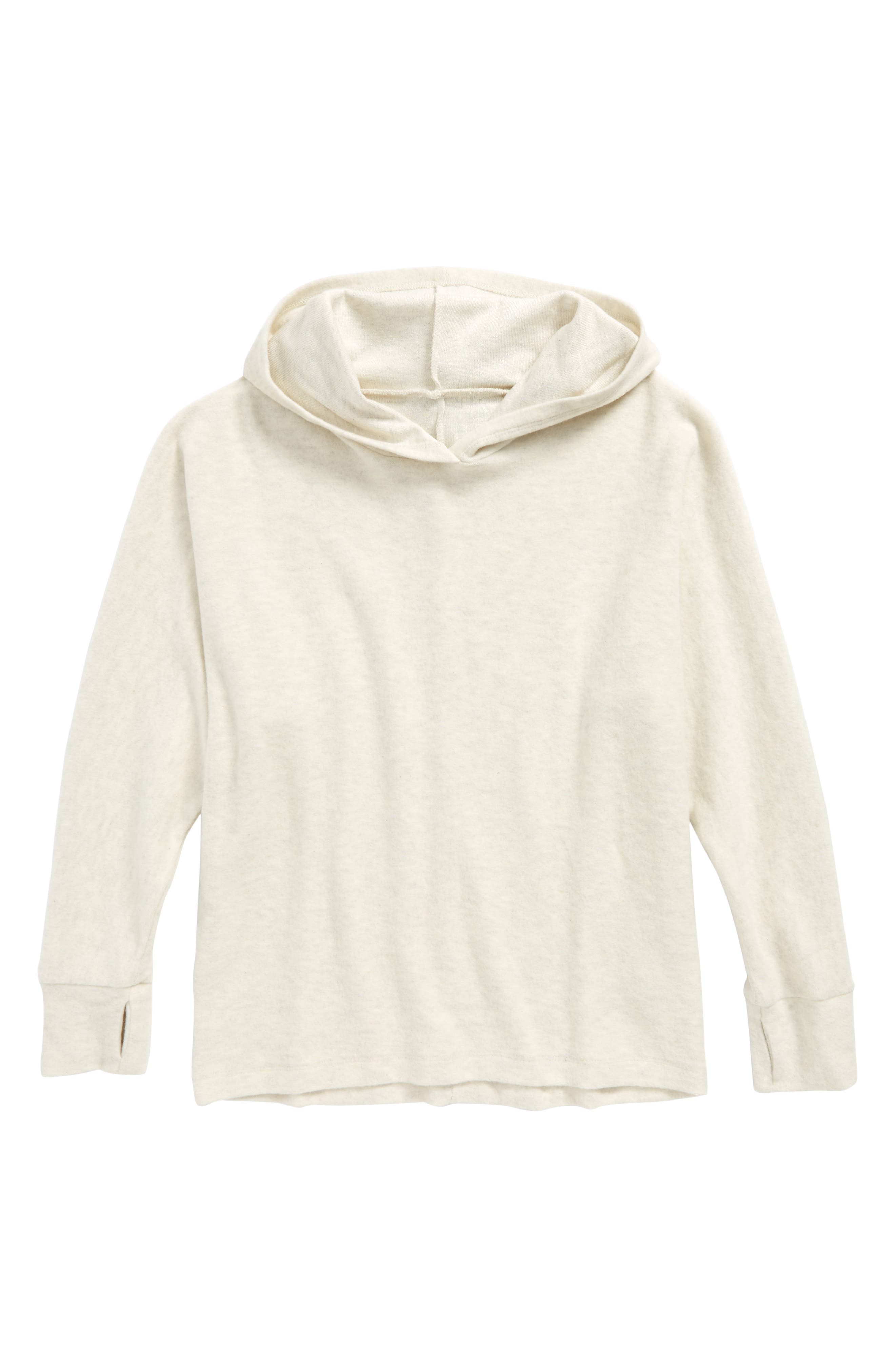 Batwing Hoodie,                         Main,                         color, Ivory Antique