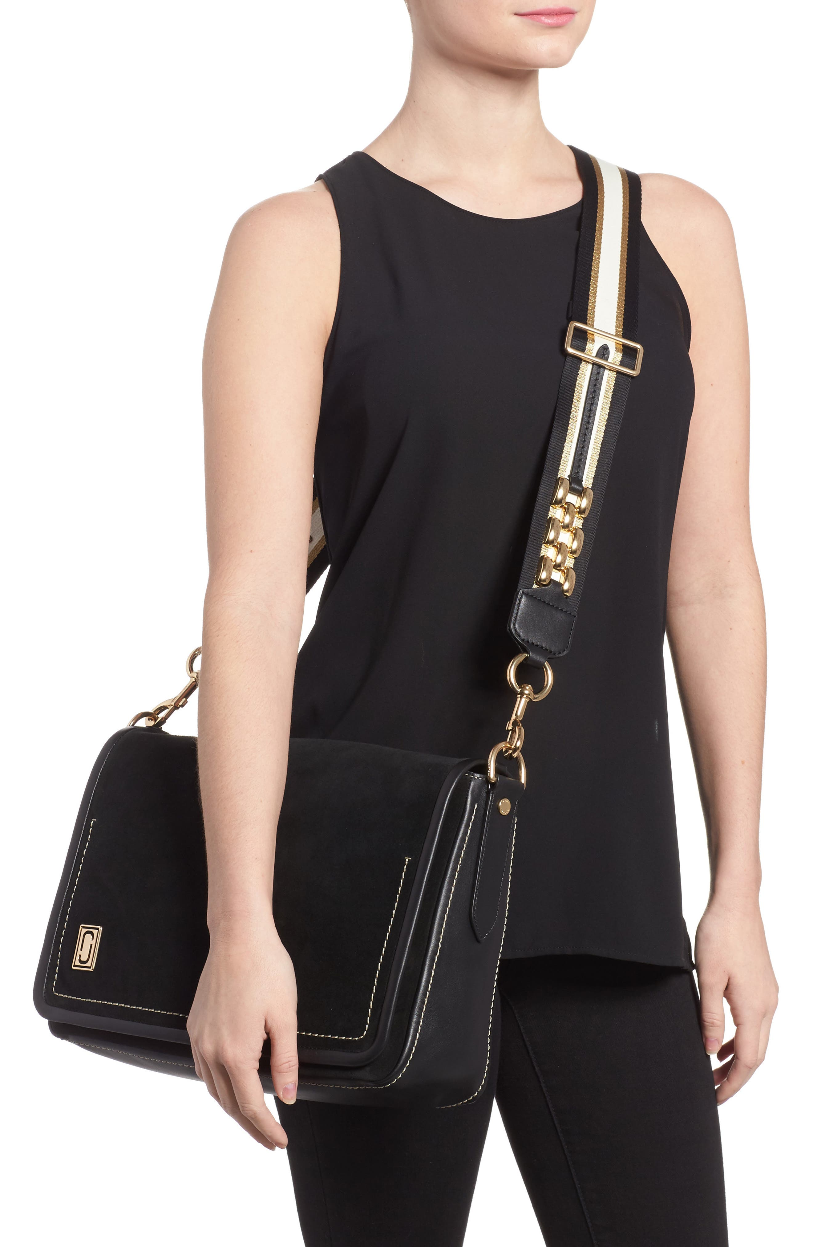 Alternate Image 2  - MARC JACOBS The Squeeze Suede Shoulder Bag