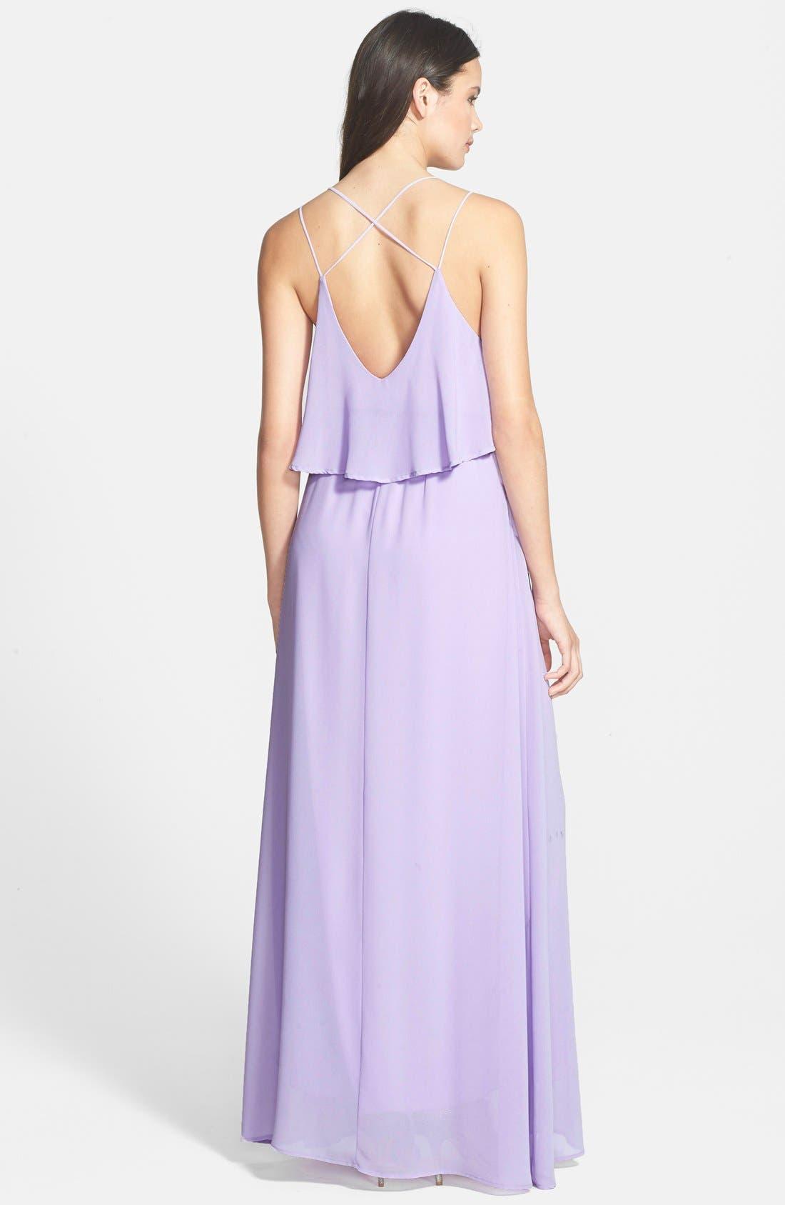 Alternate Image 2  - Everly Popover Maxi Dress