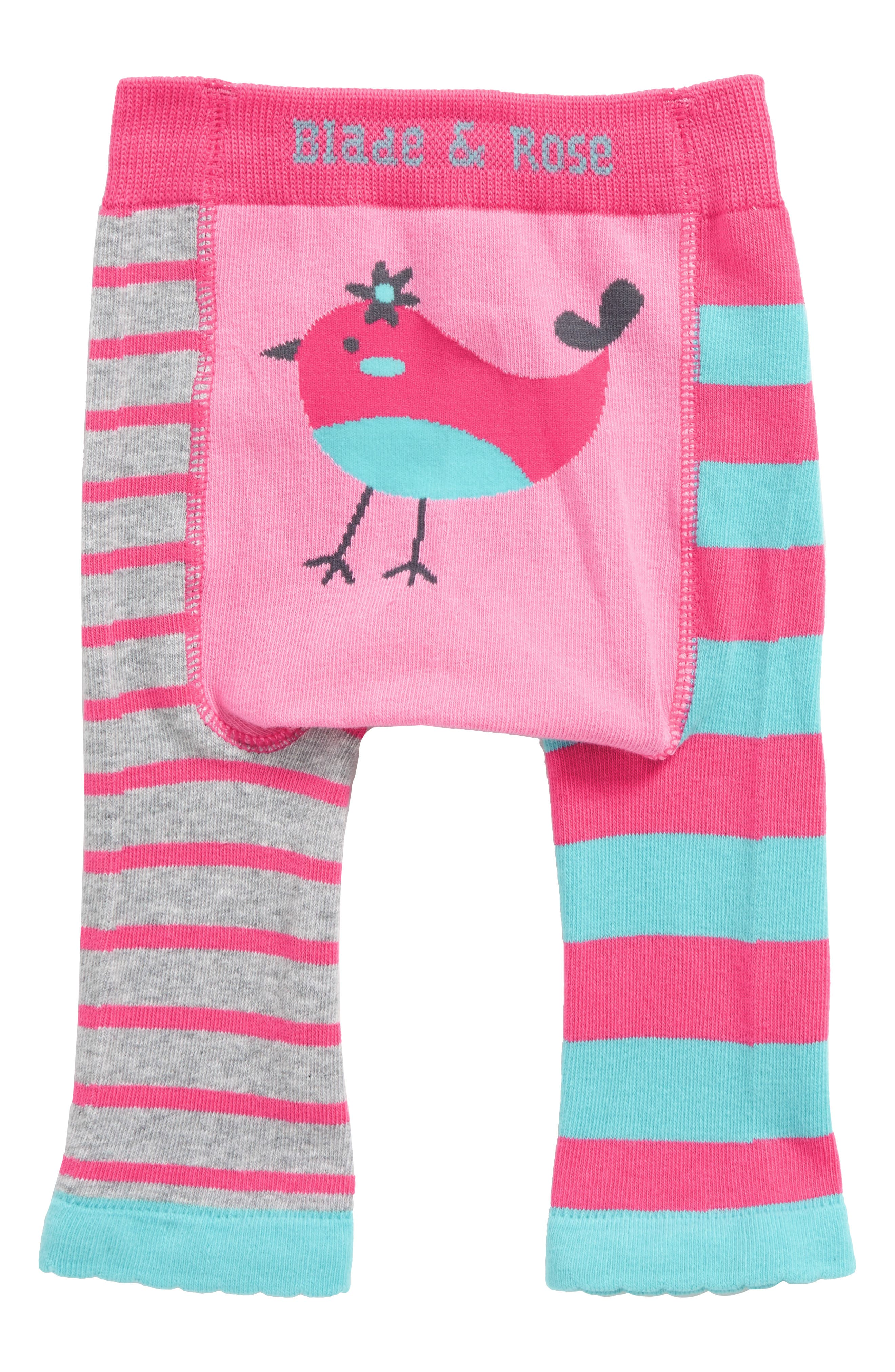 Tweetie Bird Leggings,                         Main,                         color, Baby Pink / Blue / Pink