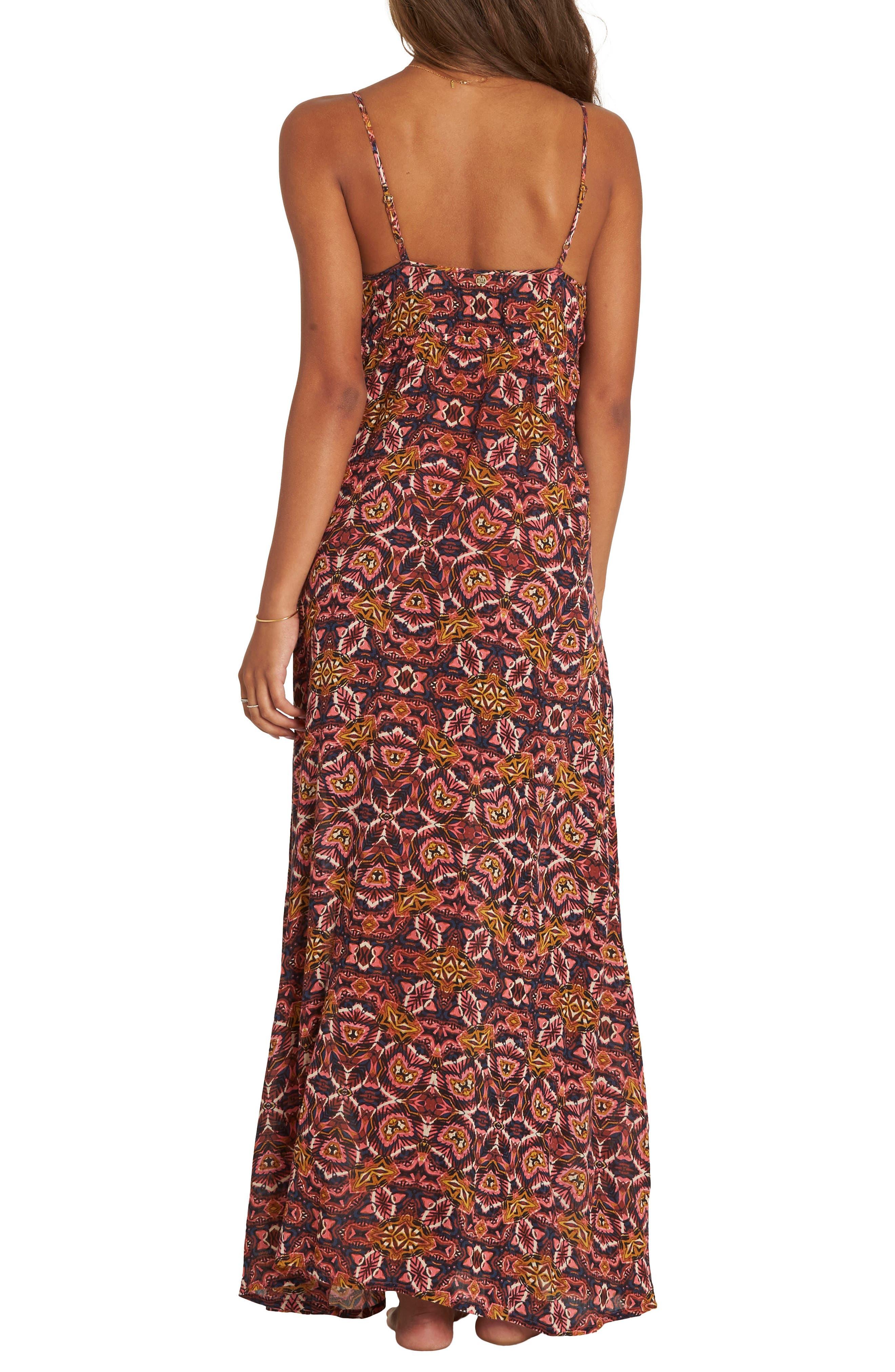 Sky On Fire Maxi Dress,                             Alternate thumbnail 2, color,                             Multi