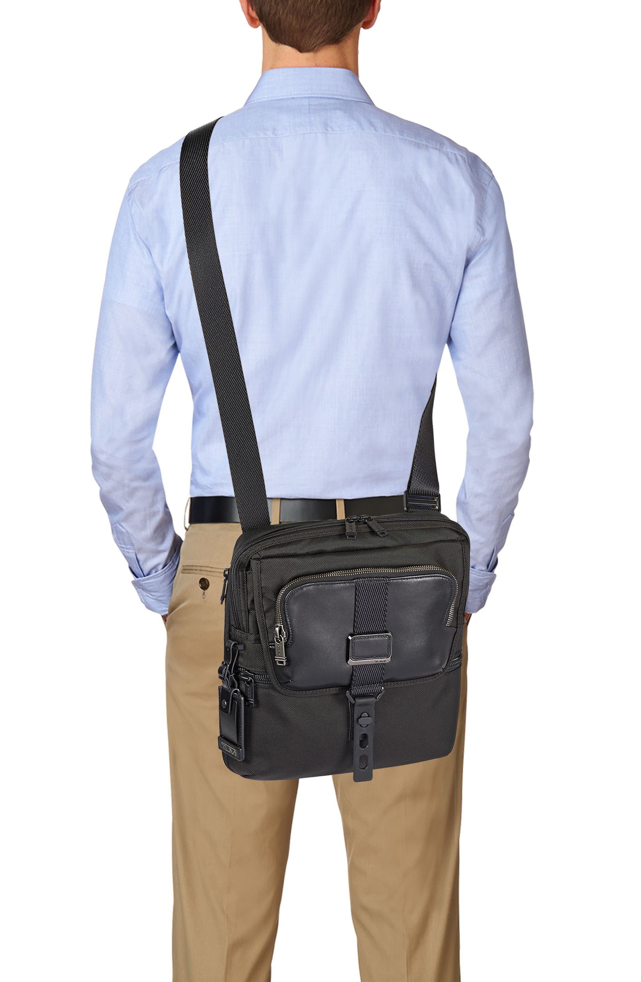 Alpha Bravo - Arnold Messenger Bag,                             Alternate thumbnail 2, color,                             Black
