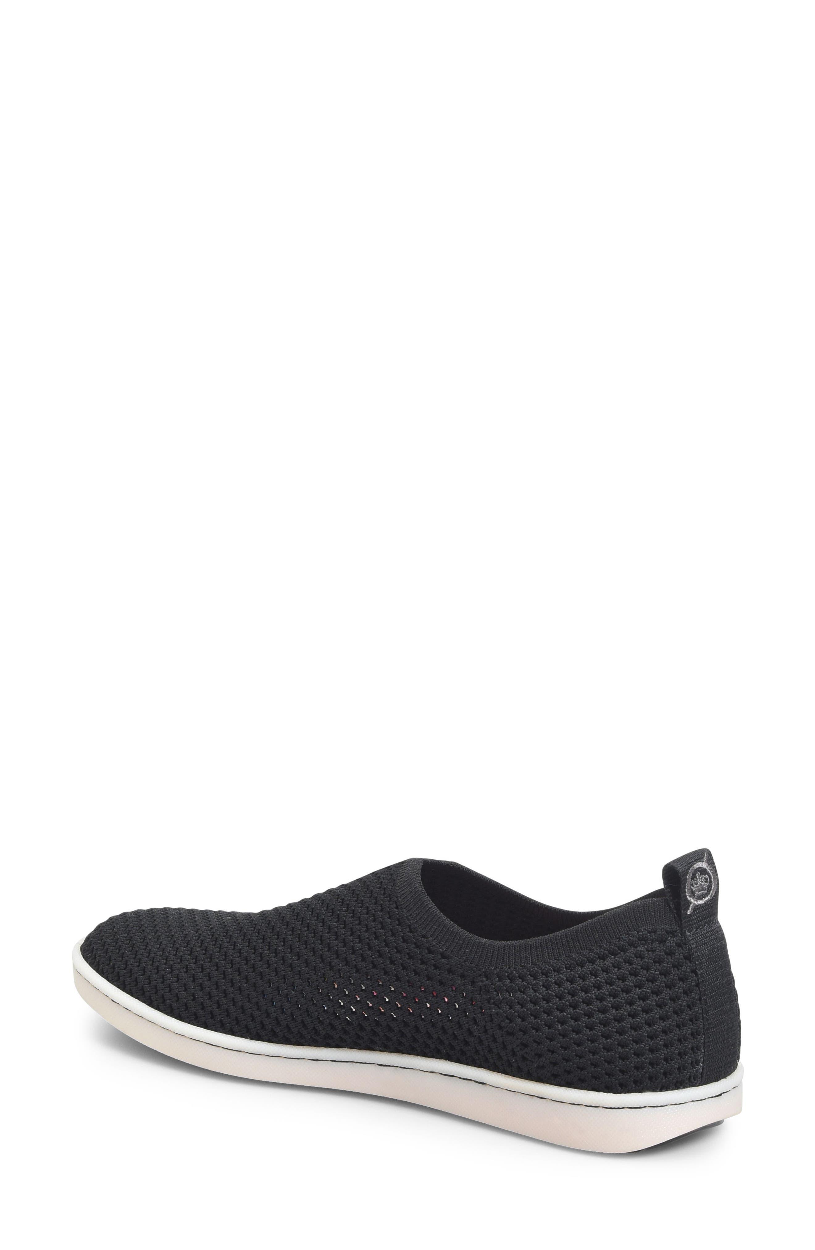 Hazy Slip-On Sneaker,                             Alternate thumbnail 2, color,                             Black Fabric