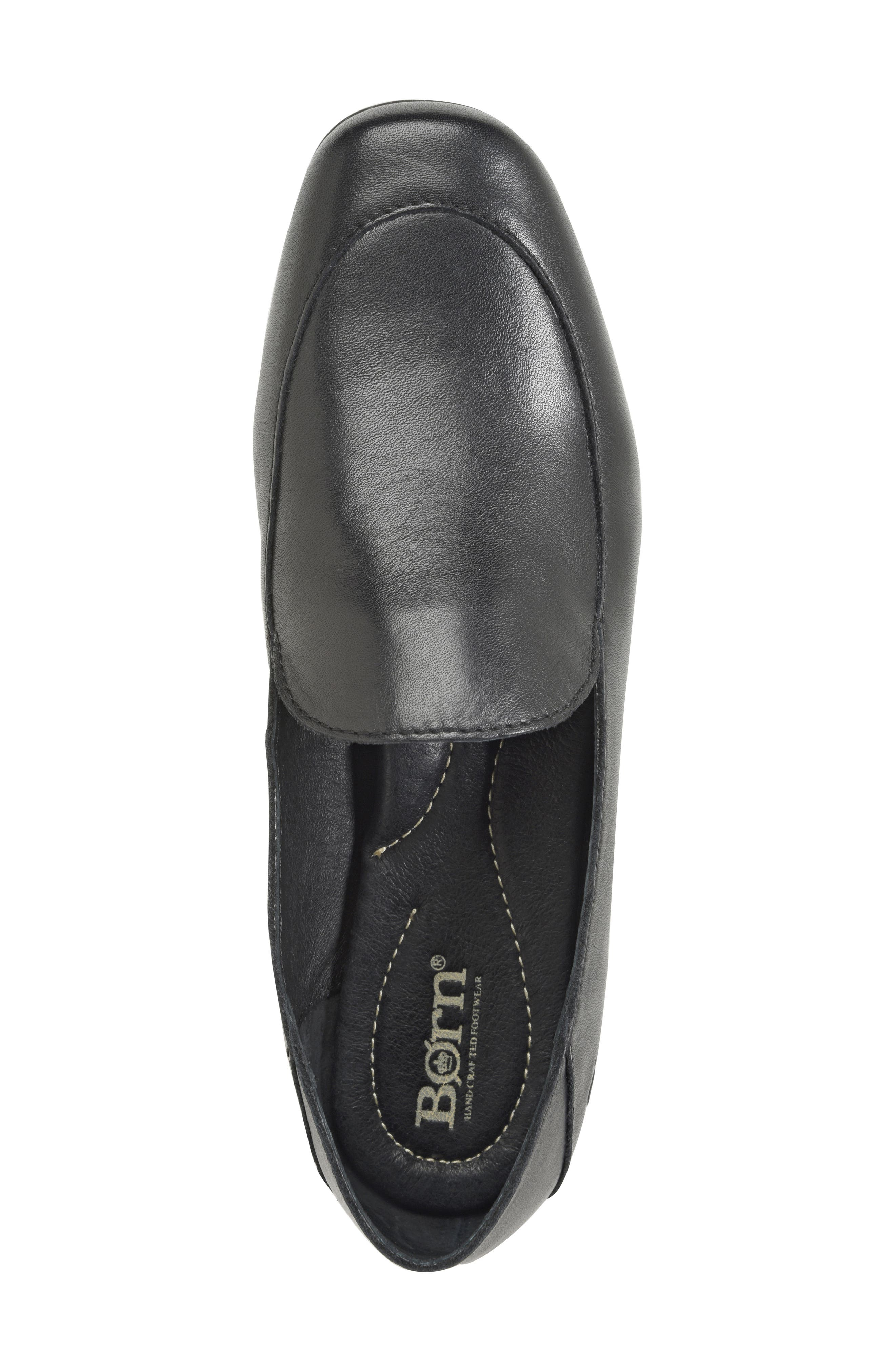 Carib Loafer,                             Alternate thumbnail 5, color,                             Black Leather