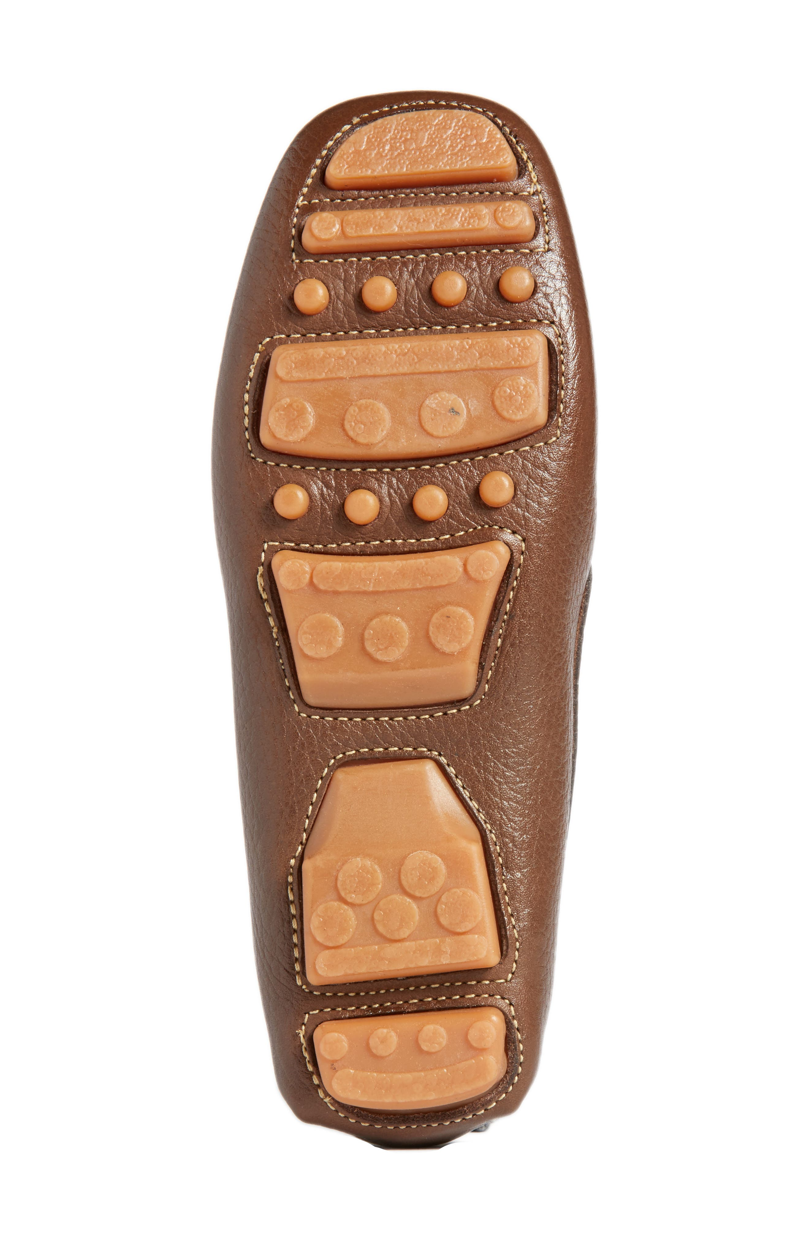 Matteo Moccasin,                             Alternate thumbnail 6, color,                             Brown Leather