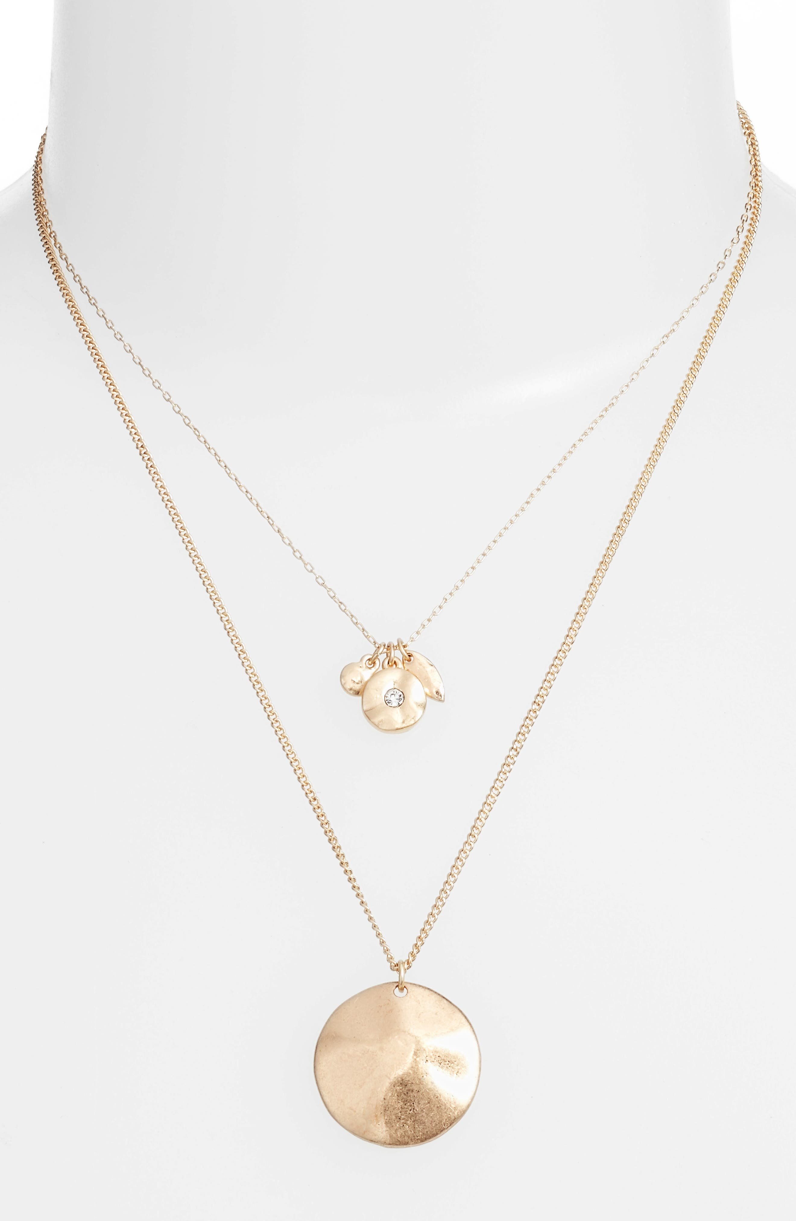 Main Image - Treasure & Bond Layered Disc Necklace