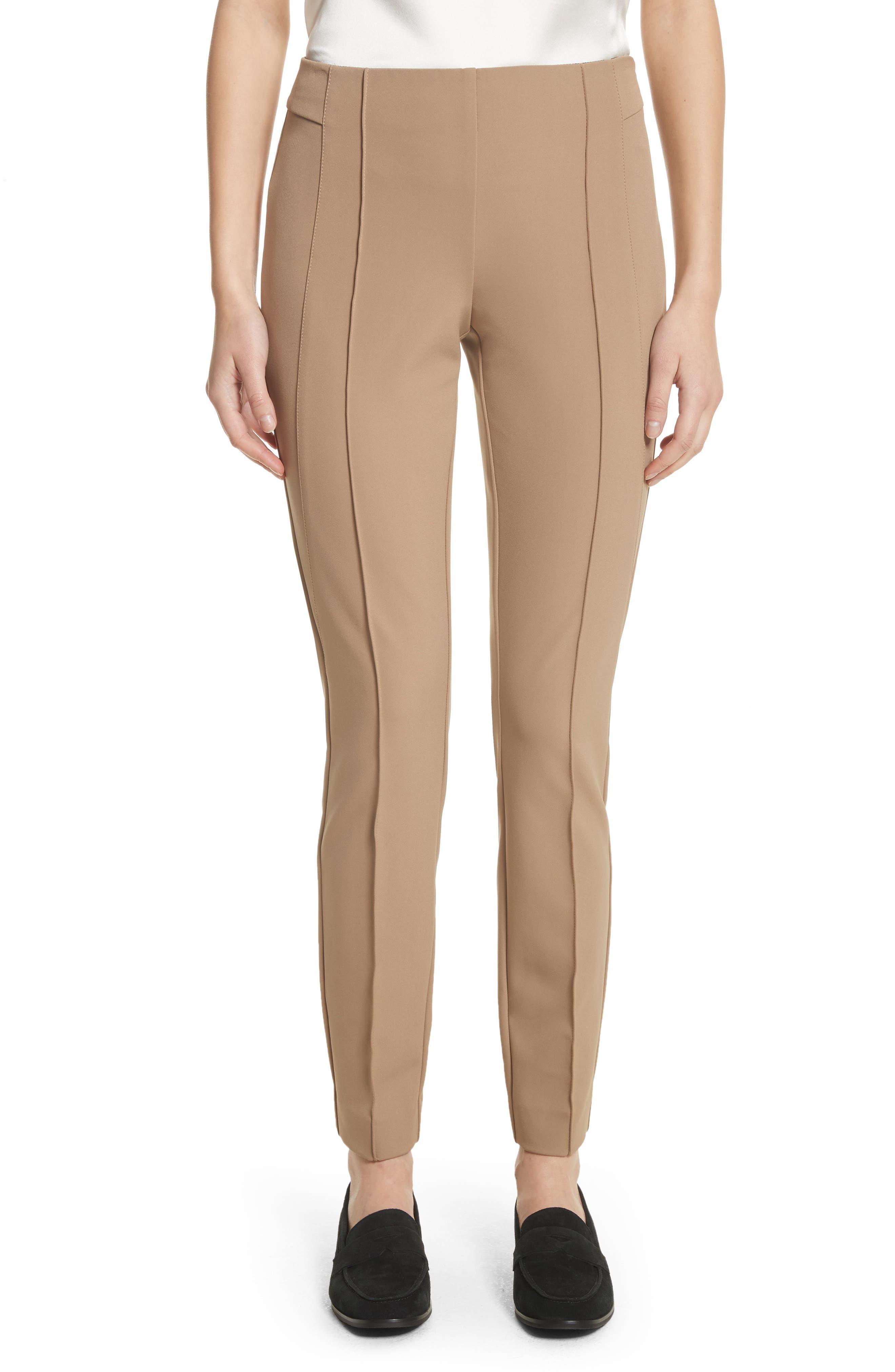 Main Image - Lafayette 148 New York 'Gramercy' Acclaimed Stretch Pants (Regular & Petite)