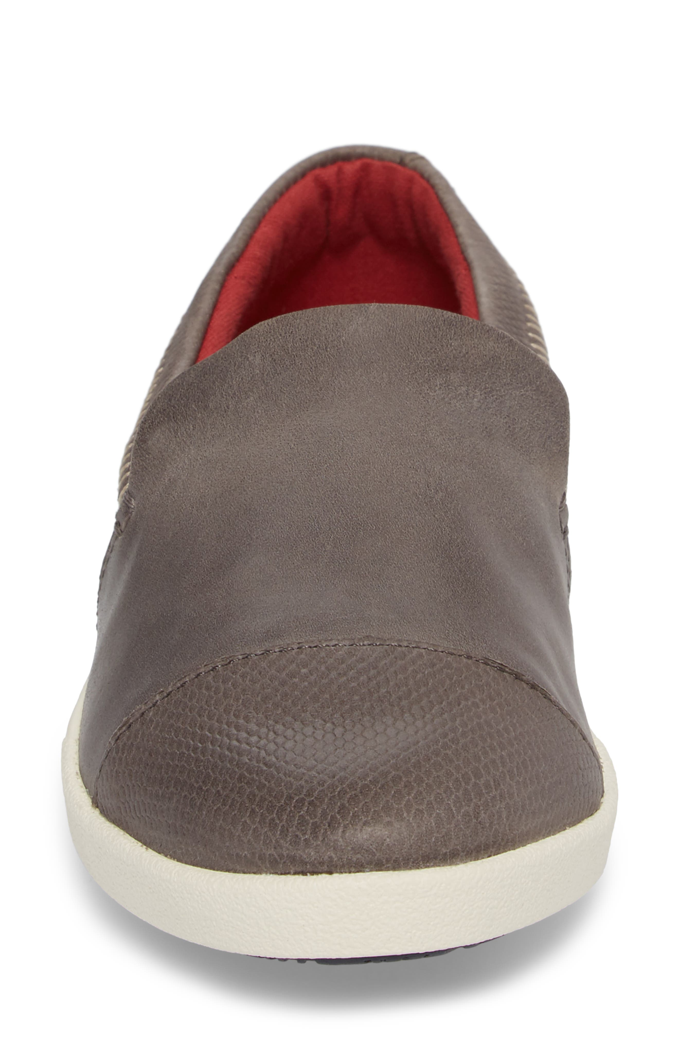 Alternate Image 4  - OluKai Alohi Embossed Cap Toe Slip-On (Women)