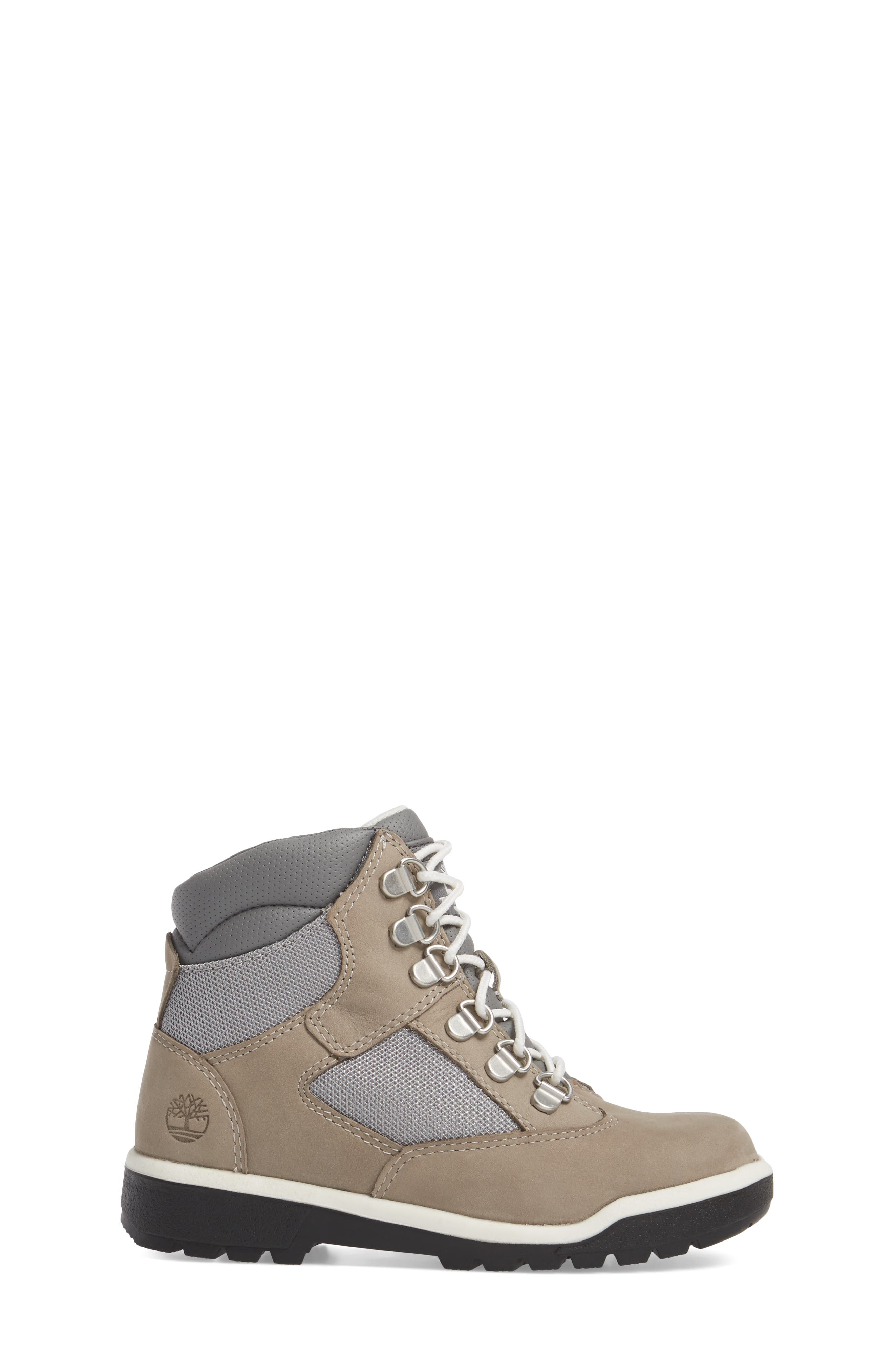 Alternate Image 3  - Timberland Water-Resistant 6-Inch Field Boot (Toddler, Little Kid & Big Kid)