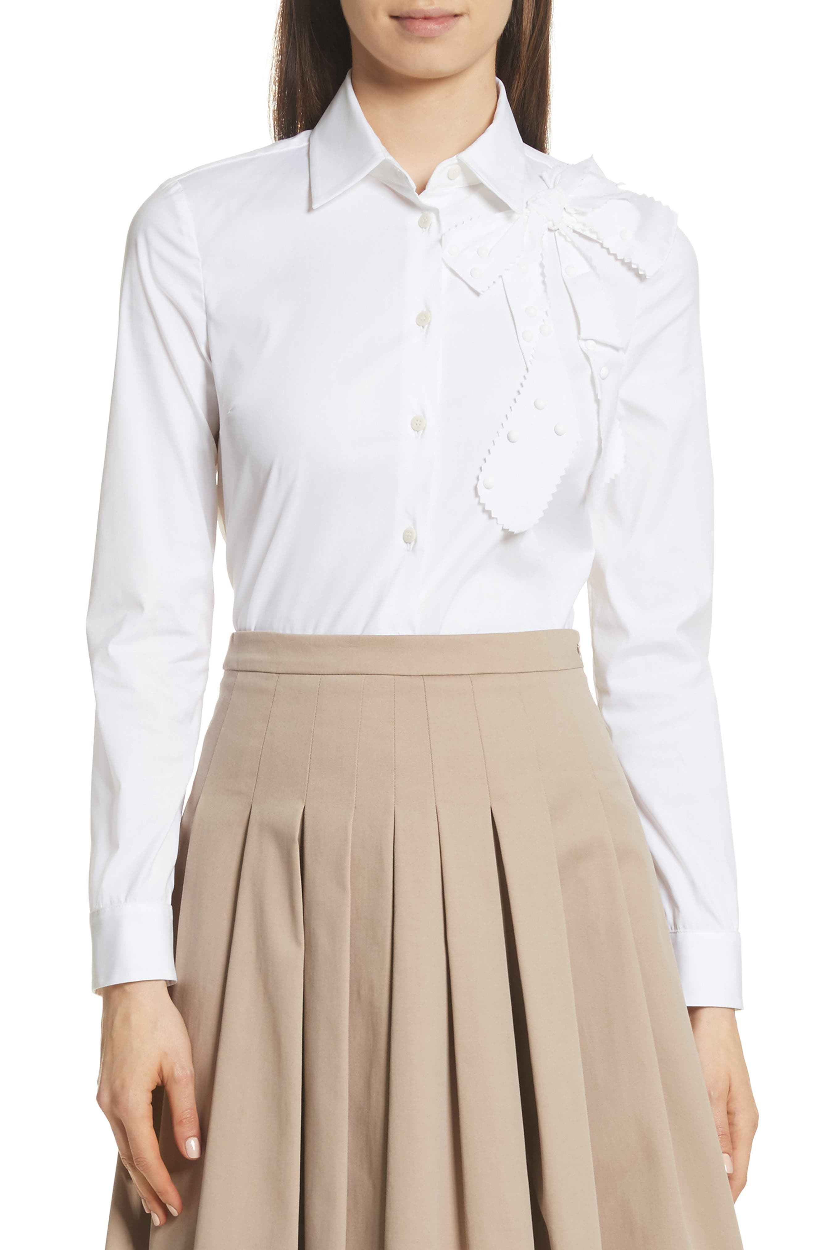 RED Valentino Bow Detail Shirt