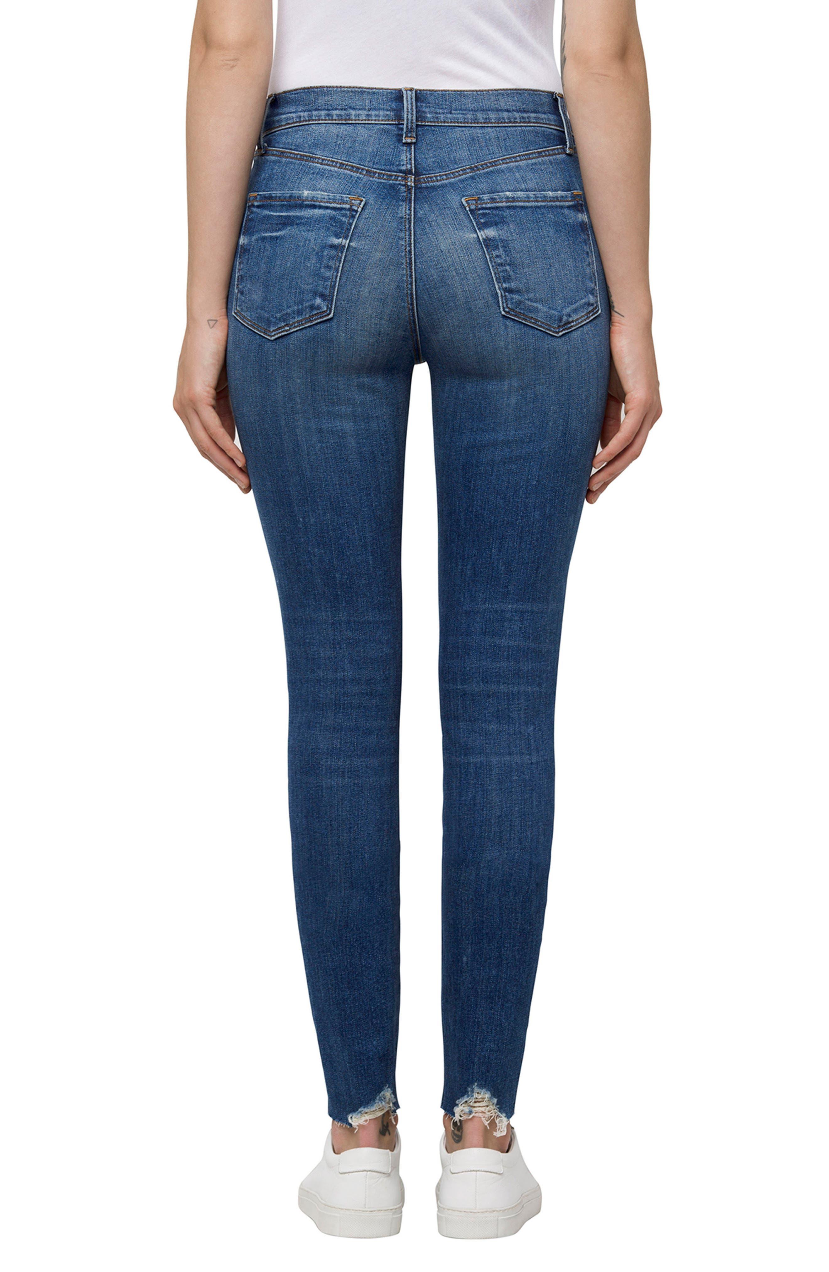 Maria High Waist Skinny Jeans,                             Alternate thumbnail 2, color,                             Revoke Destruct
