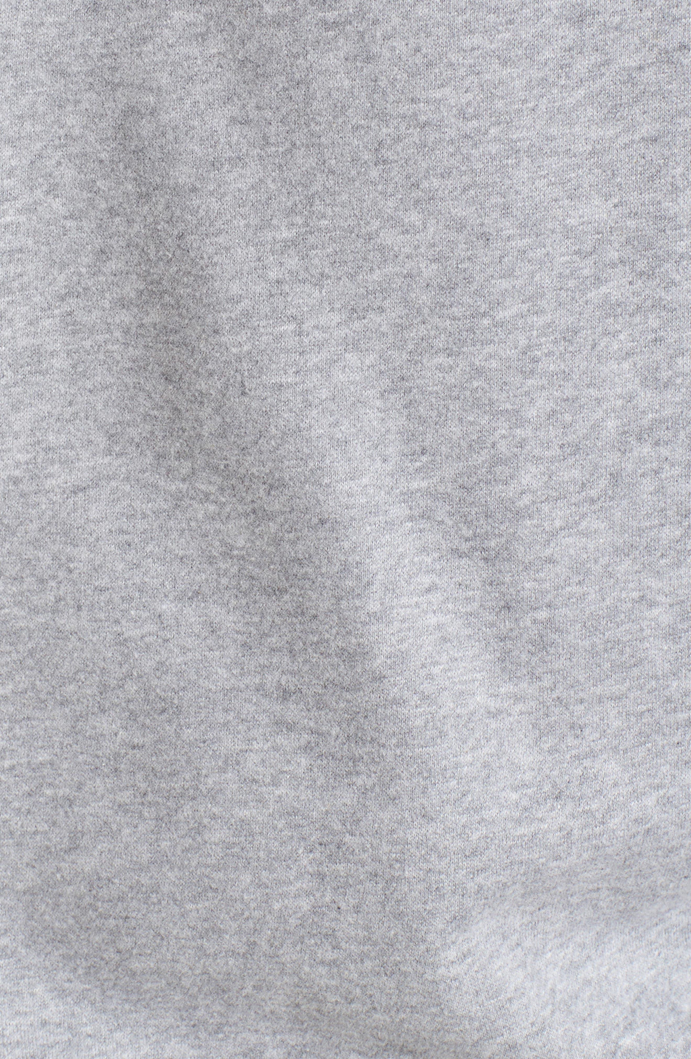 Logo Graphic Essential Sweatshirt,                             Alternate thumbnail 5, color,                             Grey Marl