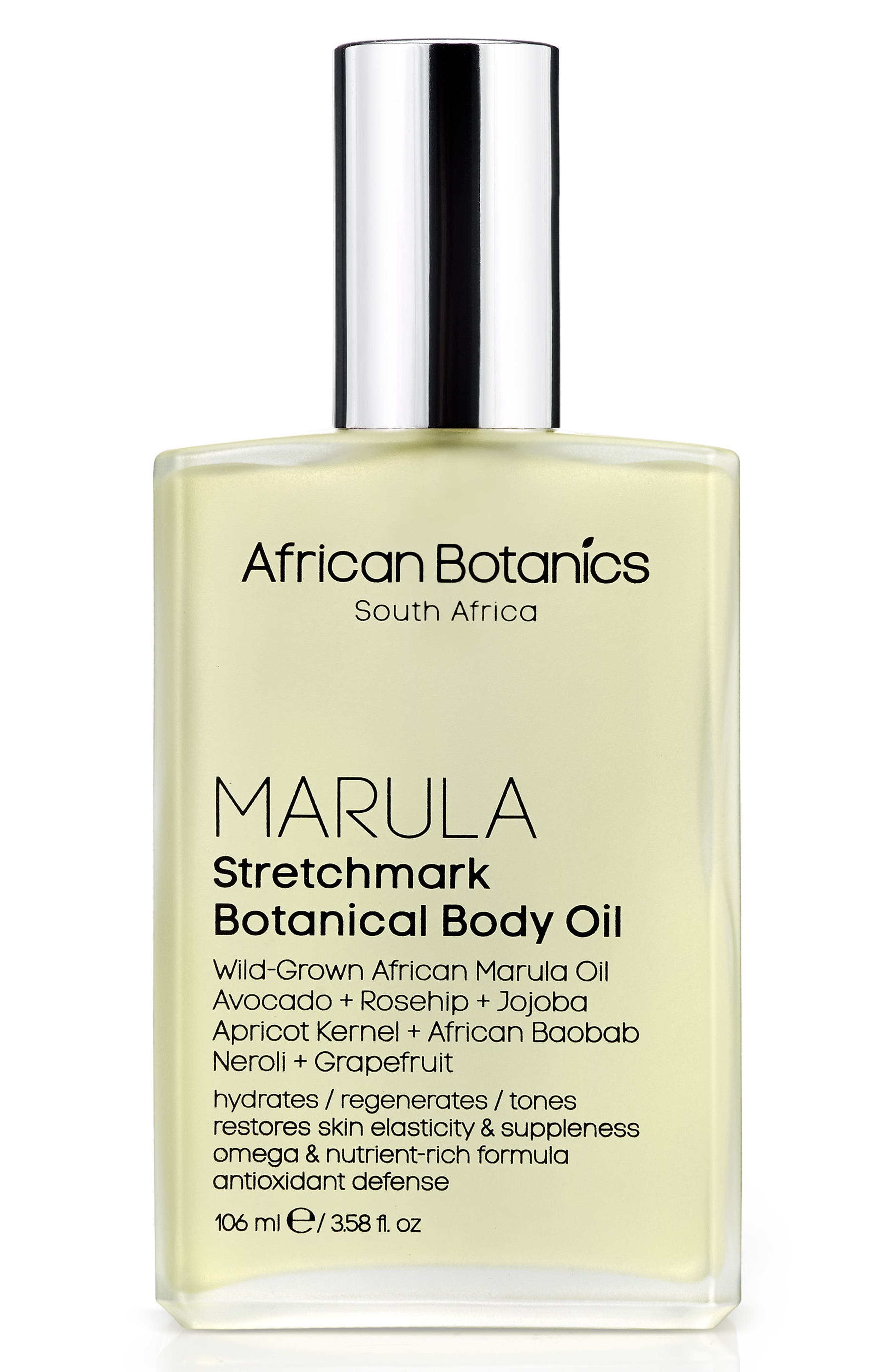 Stretchmark Botanical Body Oil,                             Main thumbnail 1, color,                             No Color