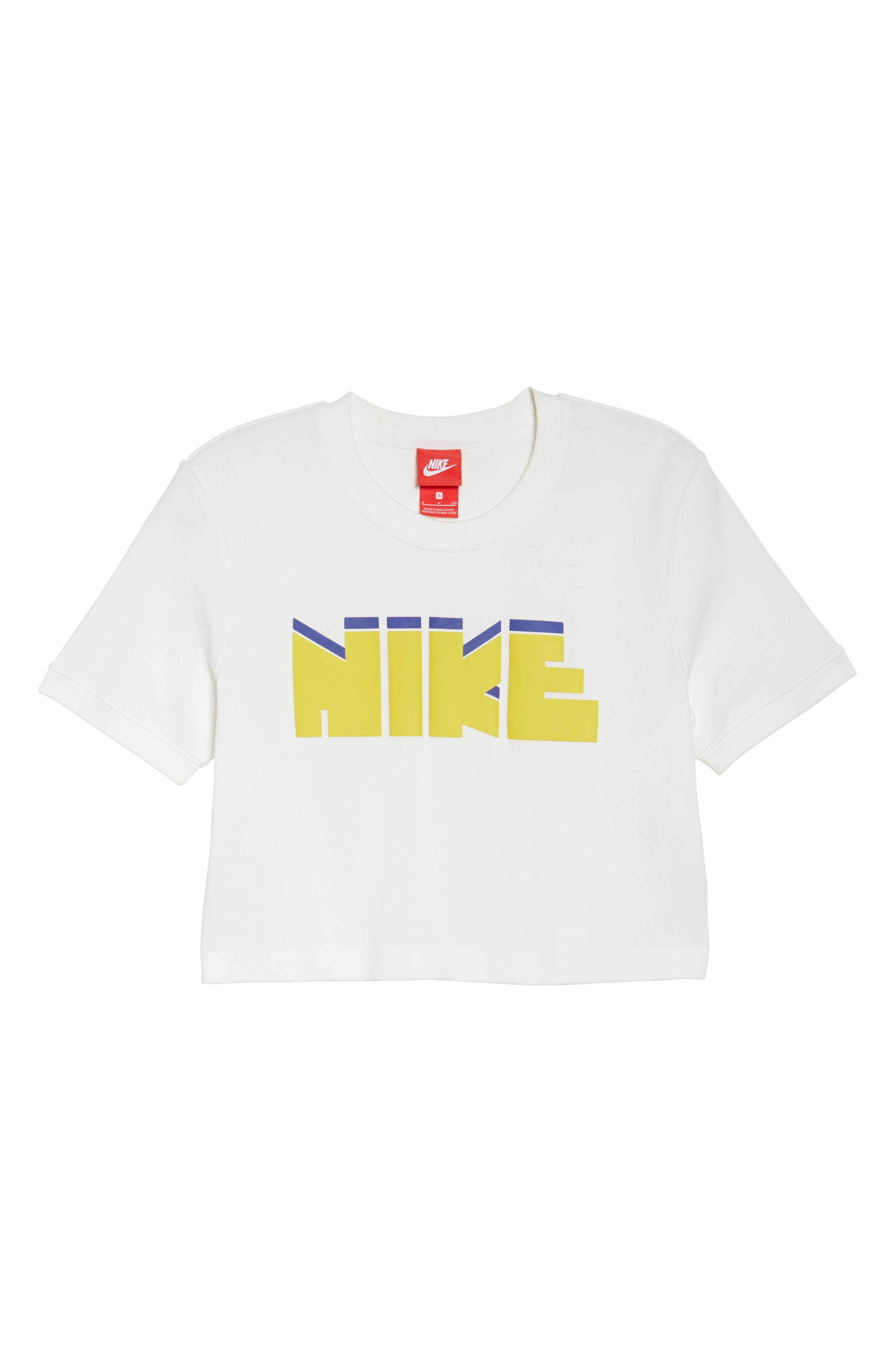 Sportswear Archive Crop Tee,                             Alternate thumbnail 7, color,                             Sail
