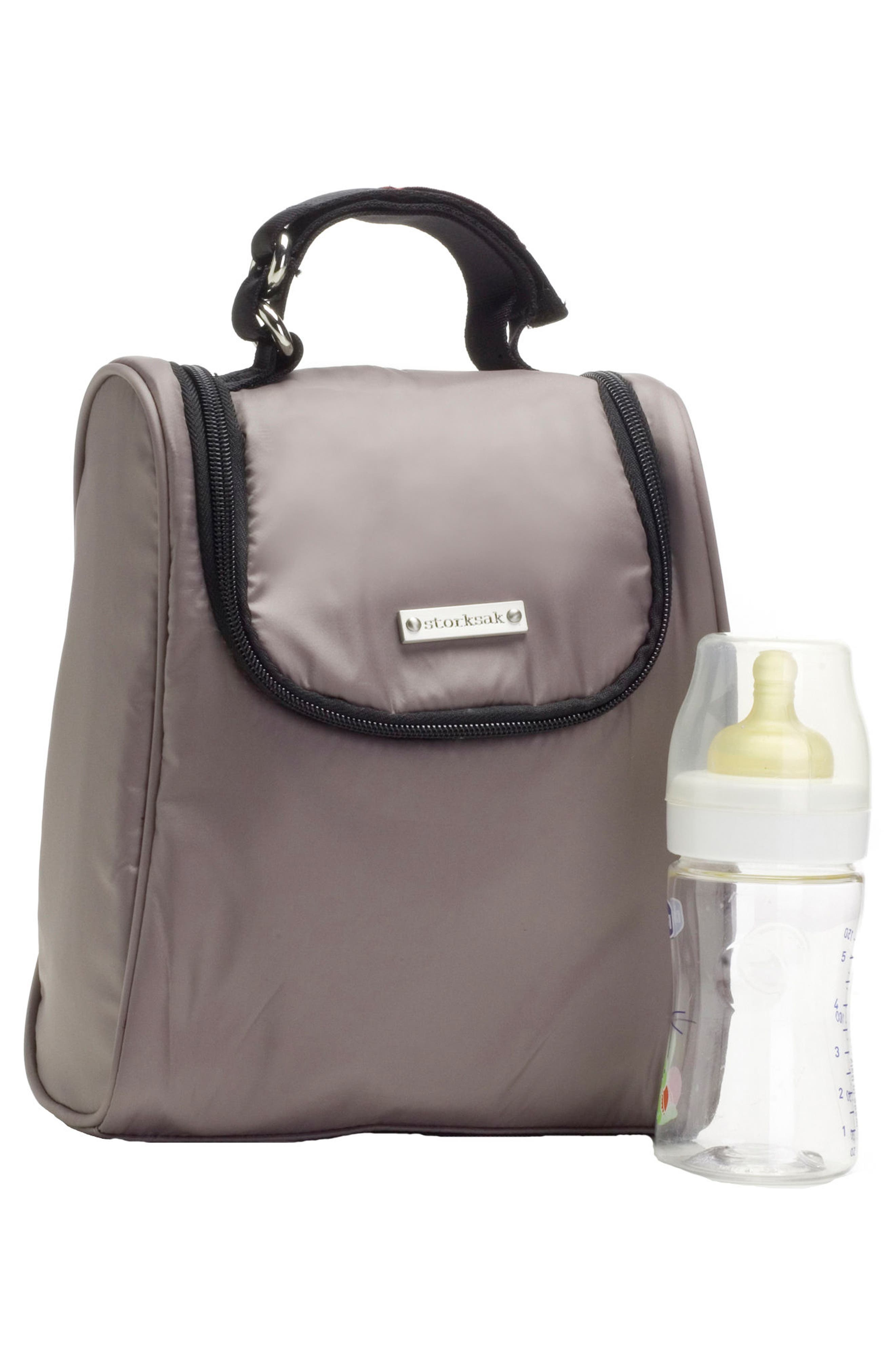 Alternate Image 5  - Storksak 'Sandy' Diaper Bag