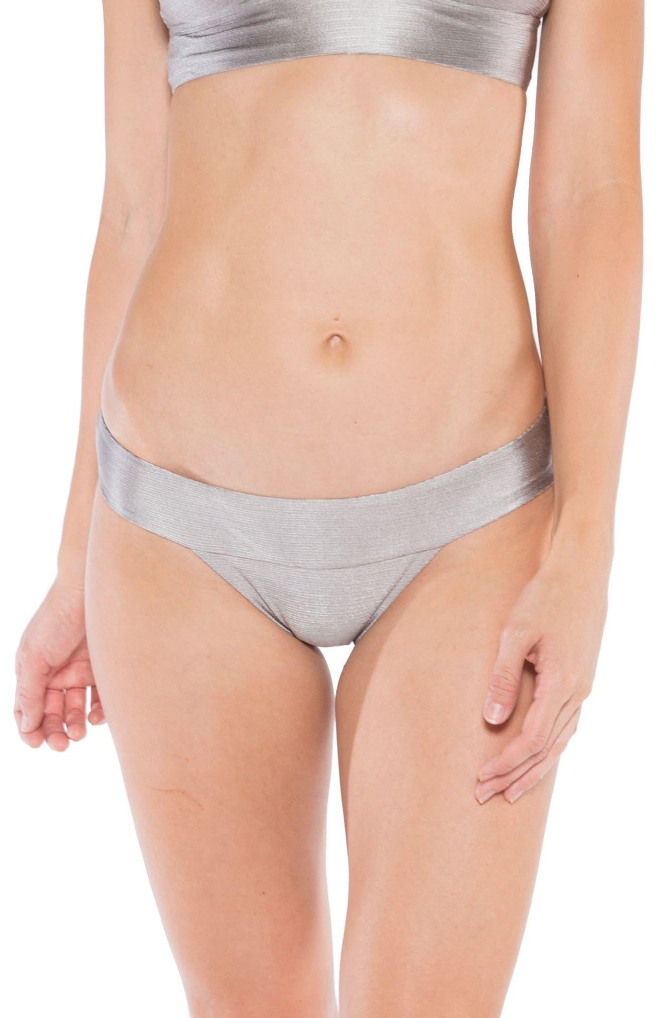 Selena Hipster Bikini Bottoms,                         Main,                         color, Sand Dollar