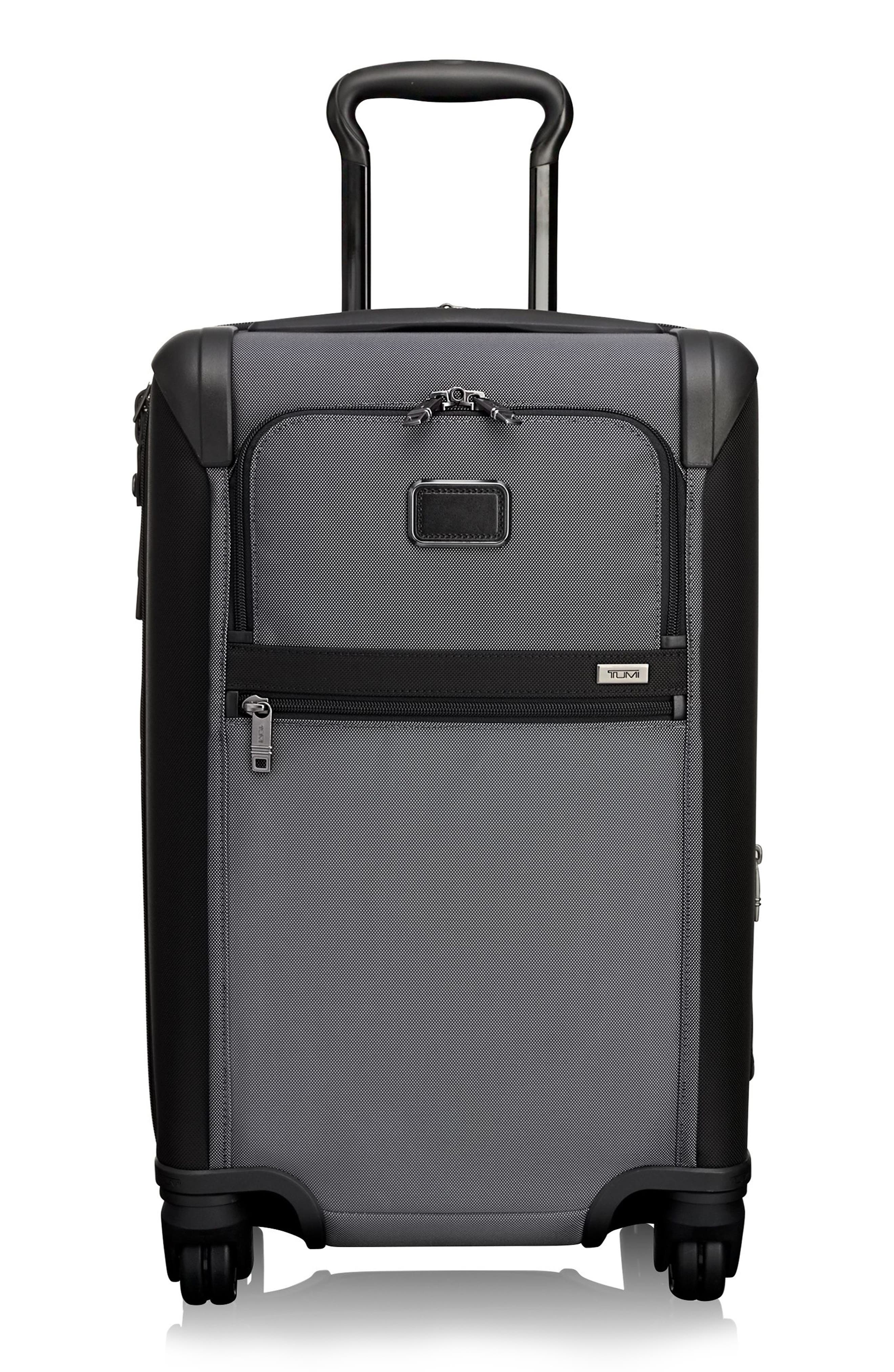 Alpha 2 International 22-Inch Wheeled Carry-On - Grey in Pewter