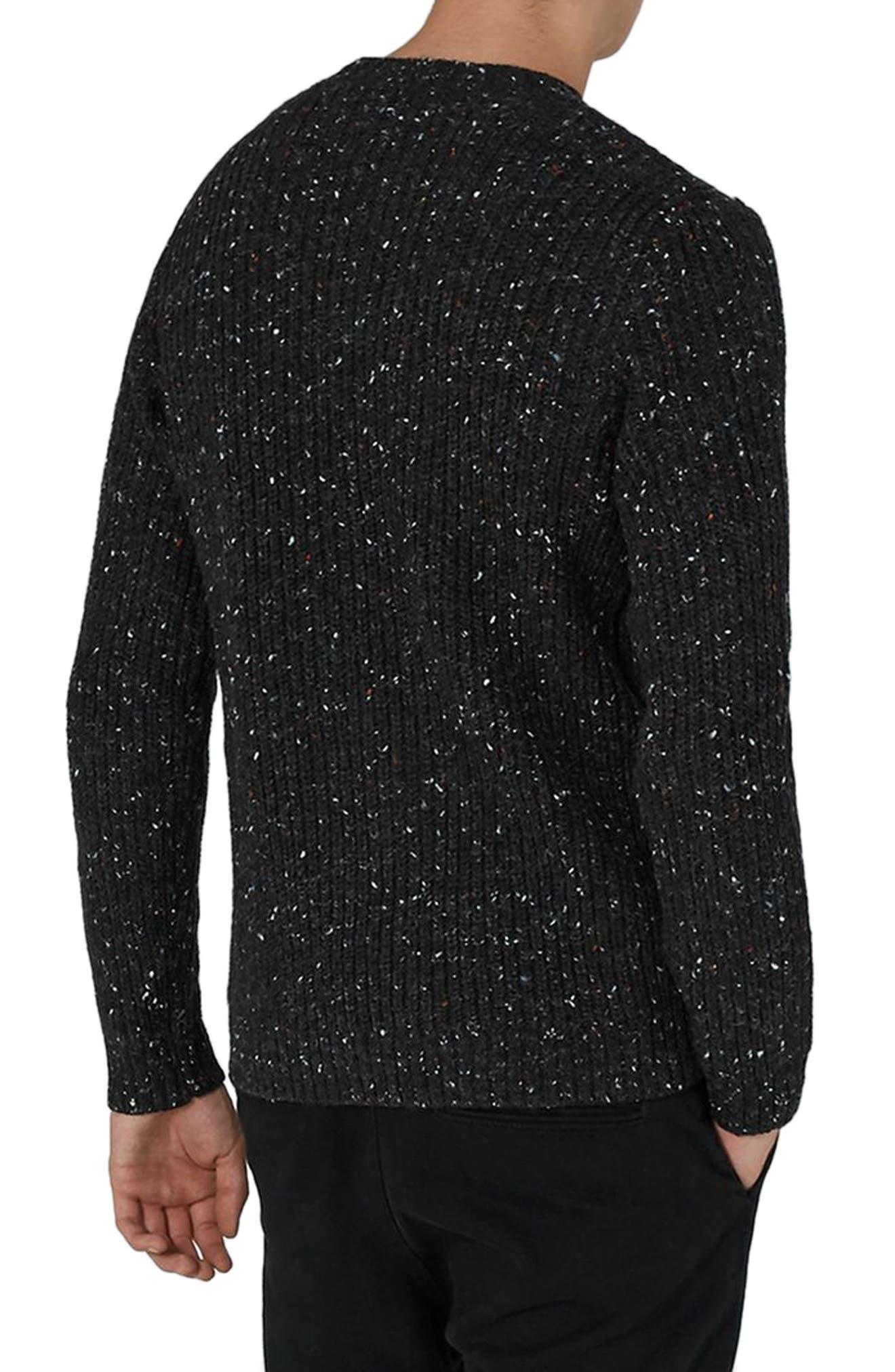 Premium Fisherman Sweater,                             Alternate thumbnail 2, color,                             Charcoal