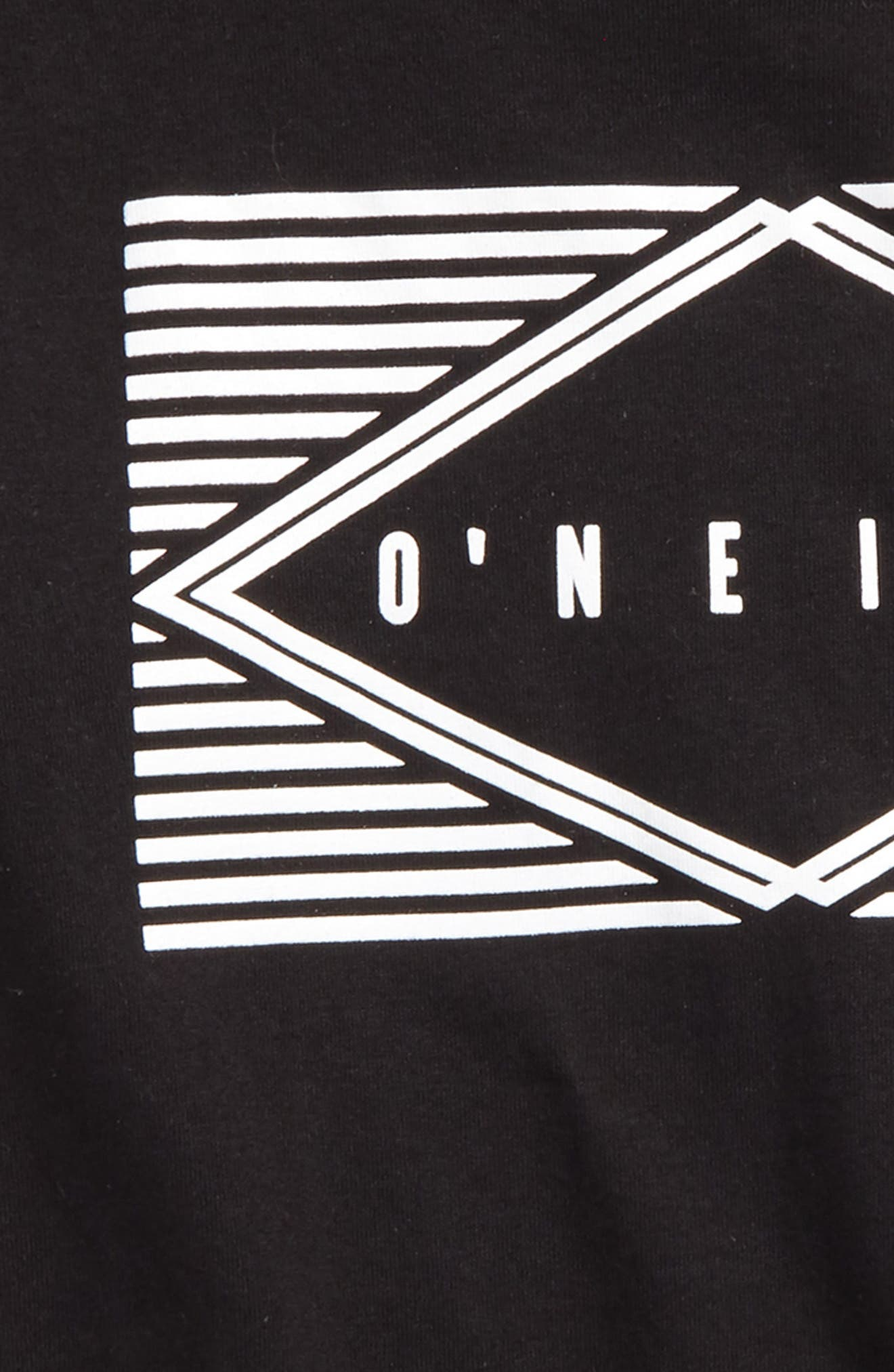 Eyeball Graphic T-Shirt,                             Alternate thumbnail 2, color,                             Black