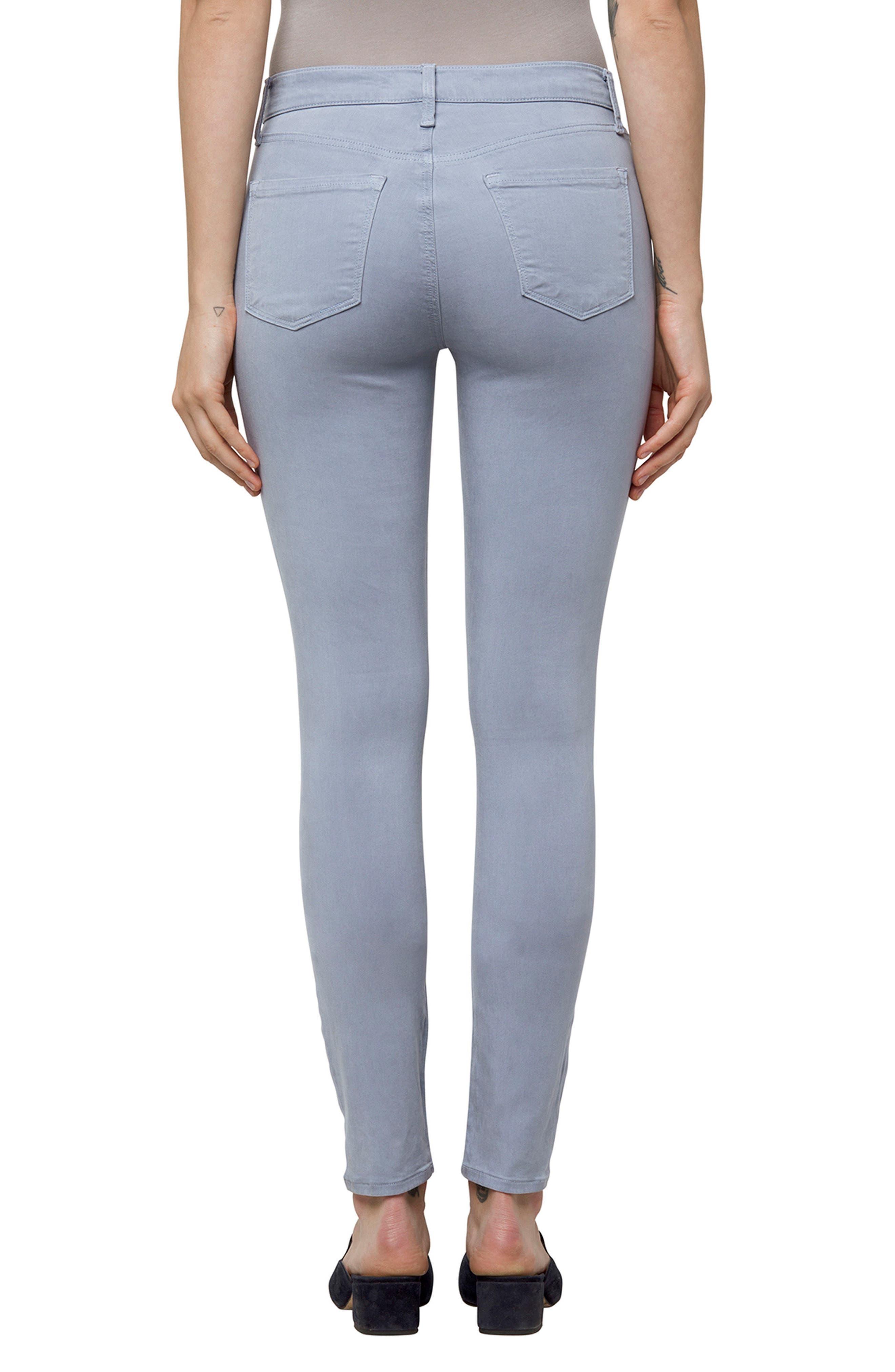 Alternate Image 2  - J Brand High Waist Ankle Super Skinny Jeans