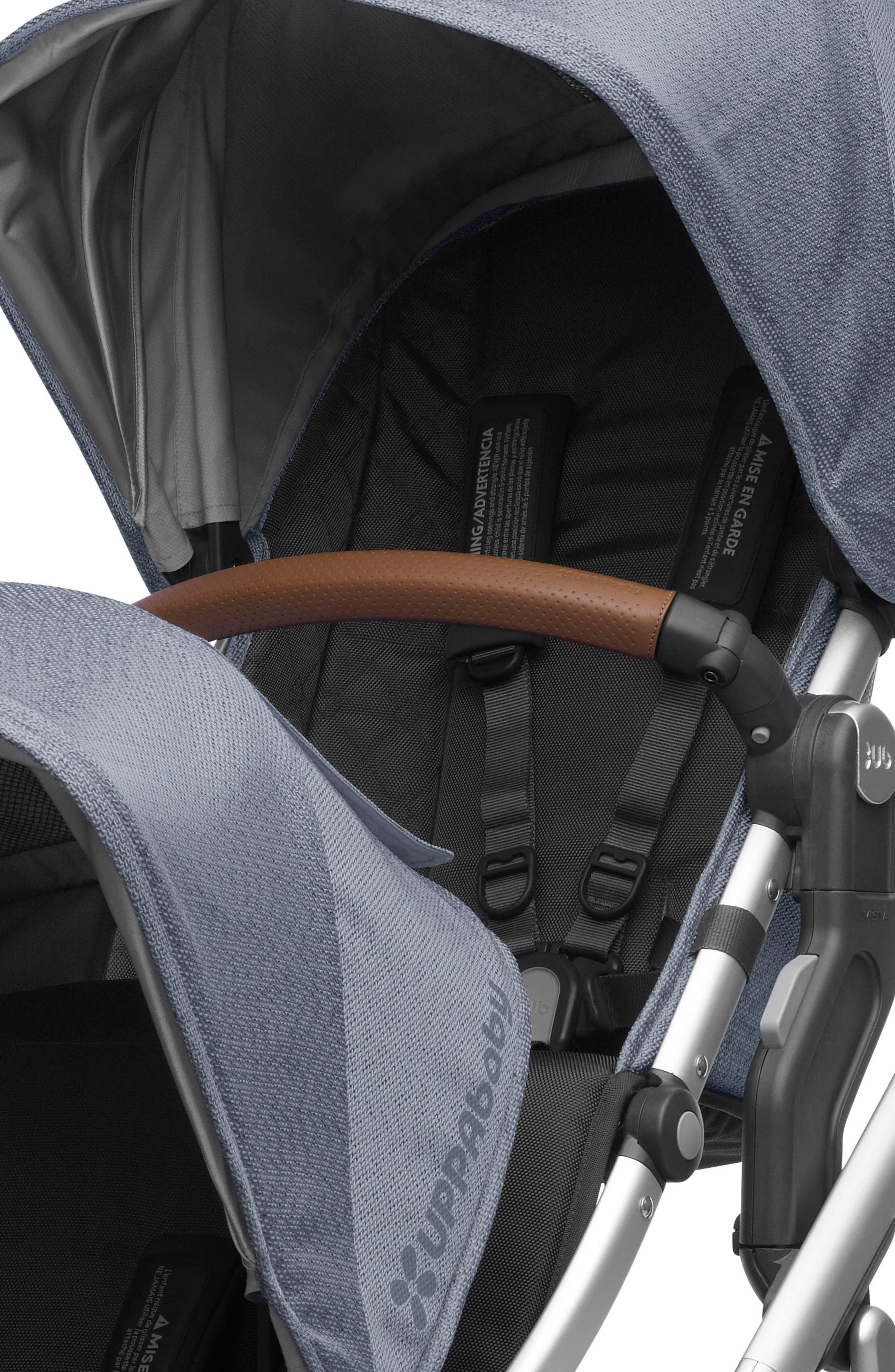 Alternate Image 2  - UPPAbaby VISTA RumbleSeat with Leather Trim
