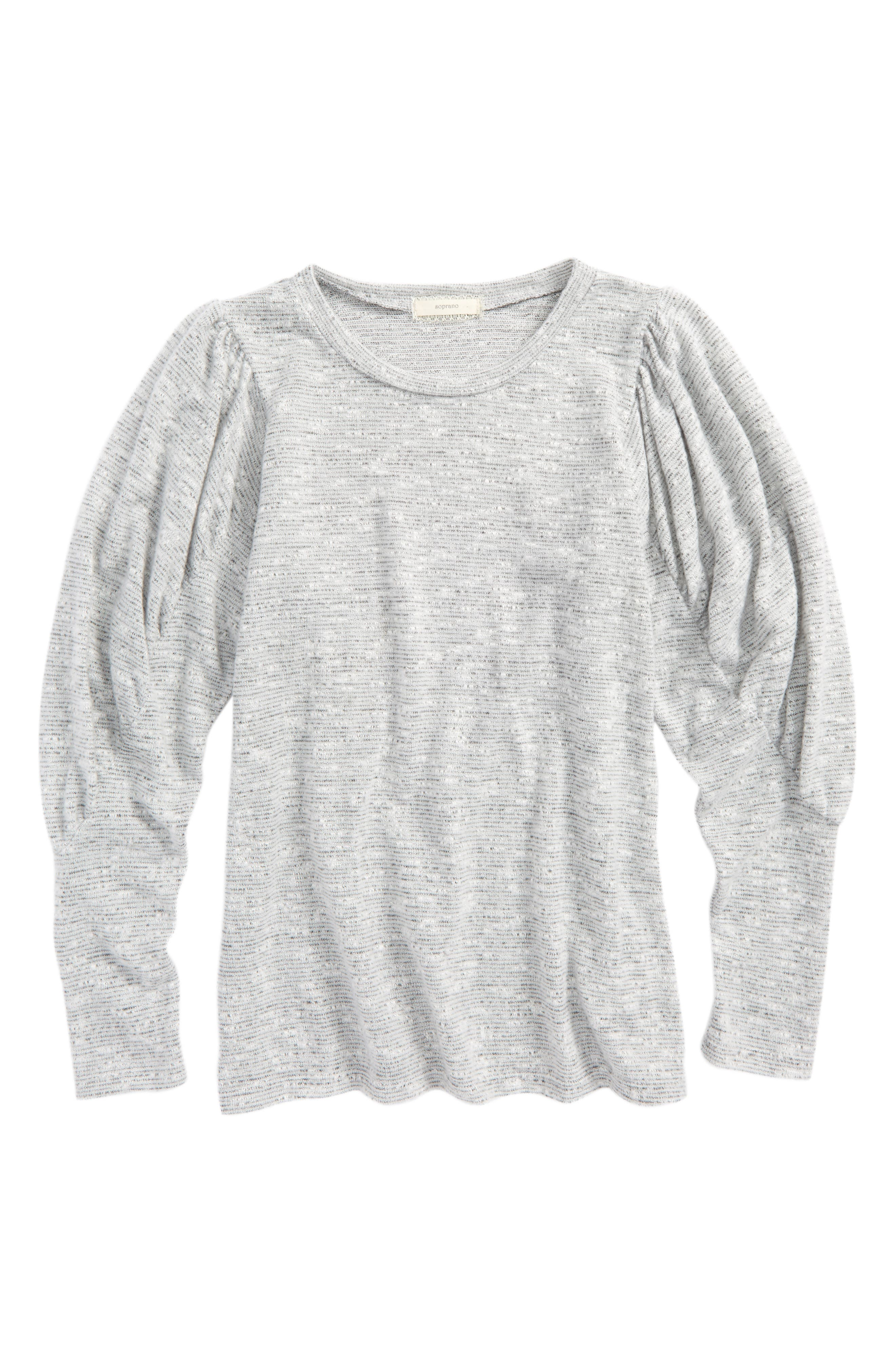 Cozy Sweater,                             Main thumbnail 1, color,                             Heather Grey