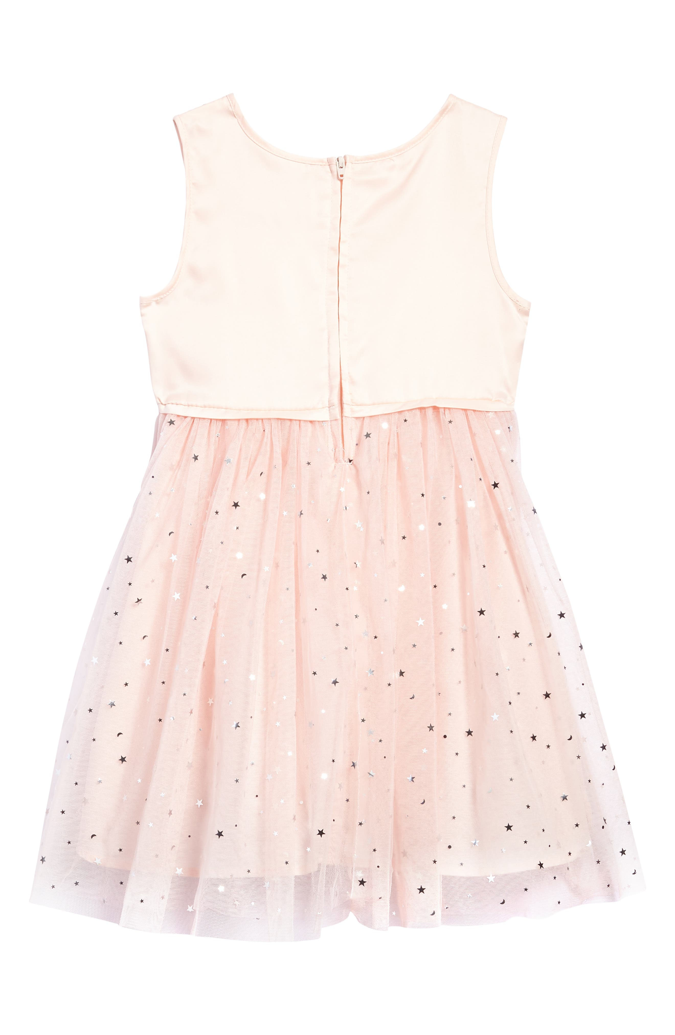 Star Tulle Dress,                             Alternate thumbnail 2, color,                             Pink
