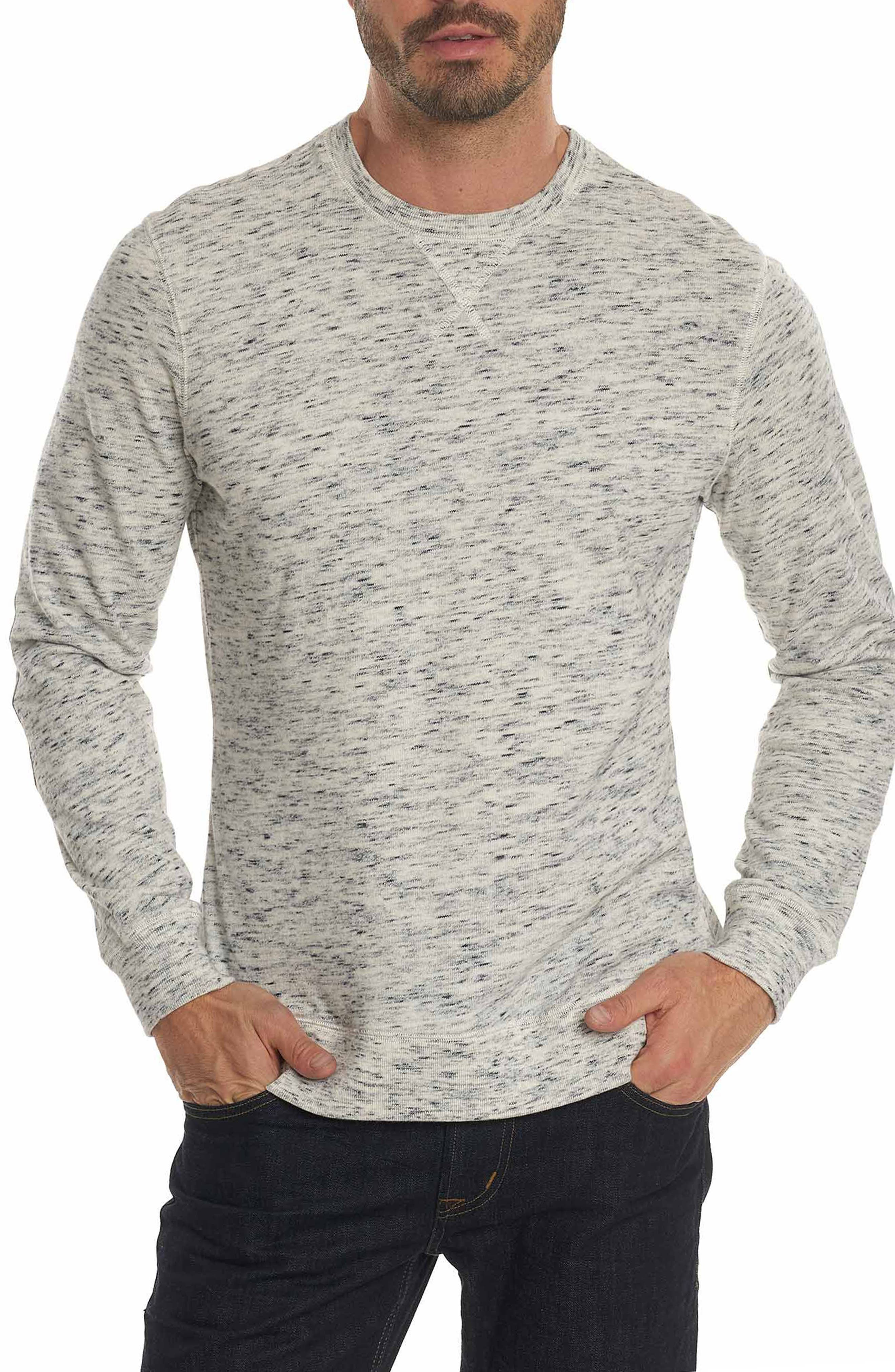 Alternate Image 1 Selected - Robert Graham Endurance Elbow Patch Sweatshirt