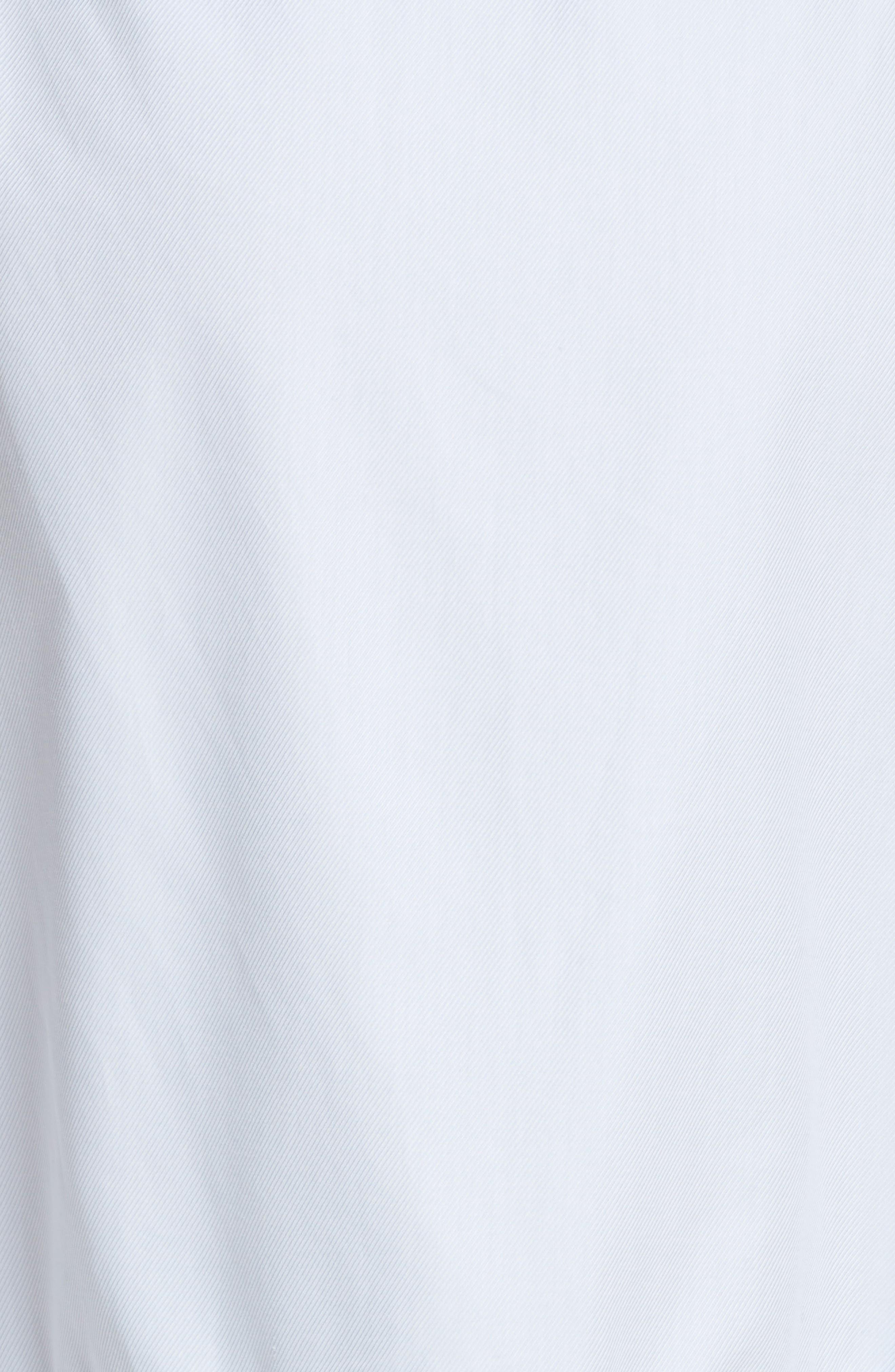 Prose & Poetry Rosen Midi Shirtdress,                             Alternate thumbnail 5, color,                             Bubble Blue